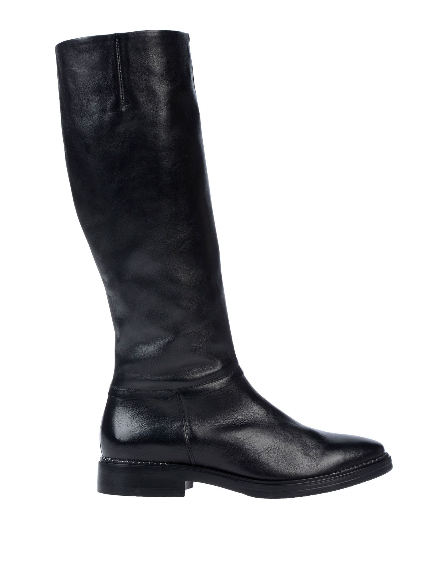 Tosca Blu Black Leather Boots