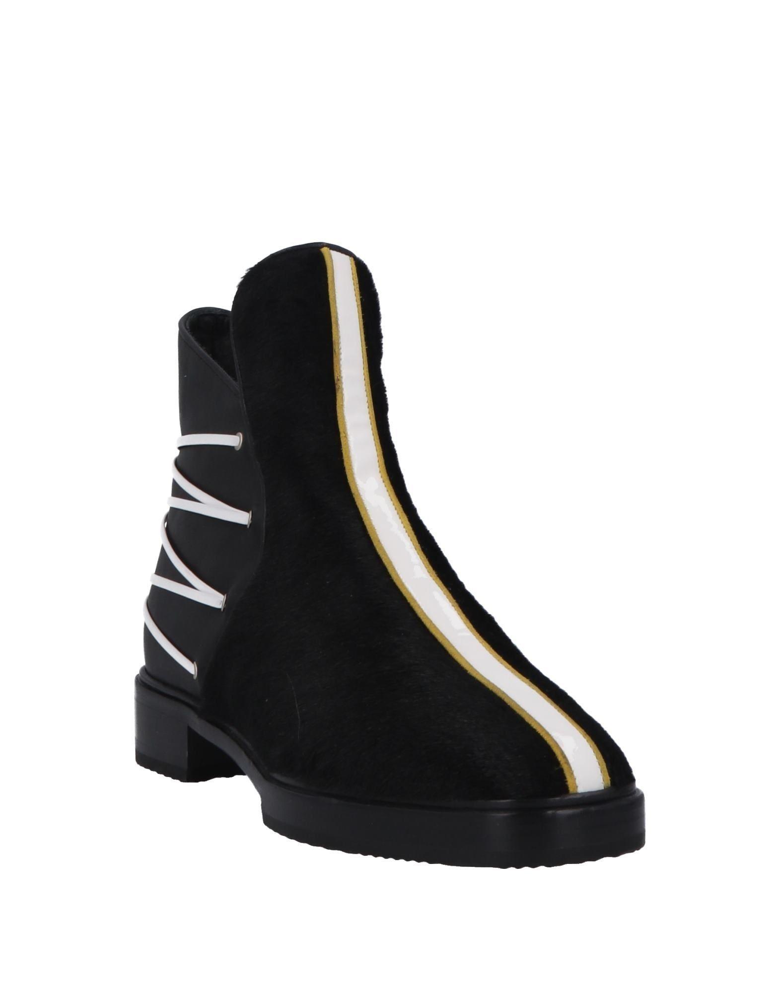Racine Carrée Women's Ankle Boots Black Leather