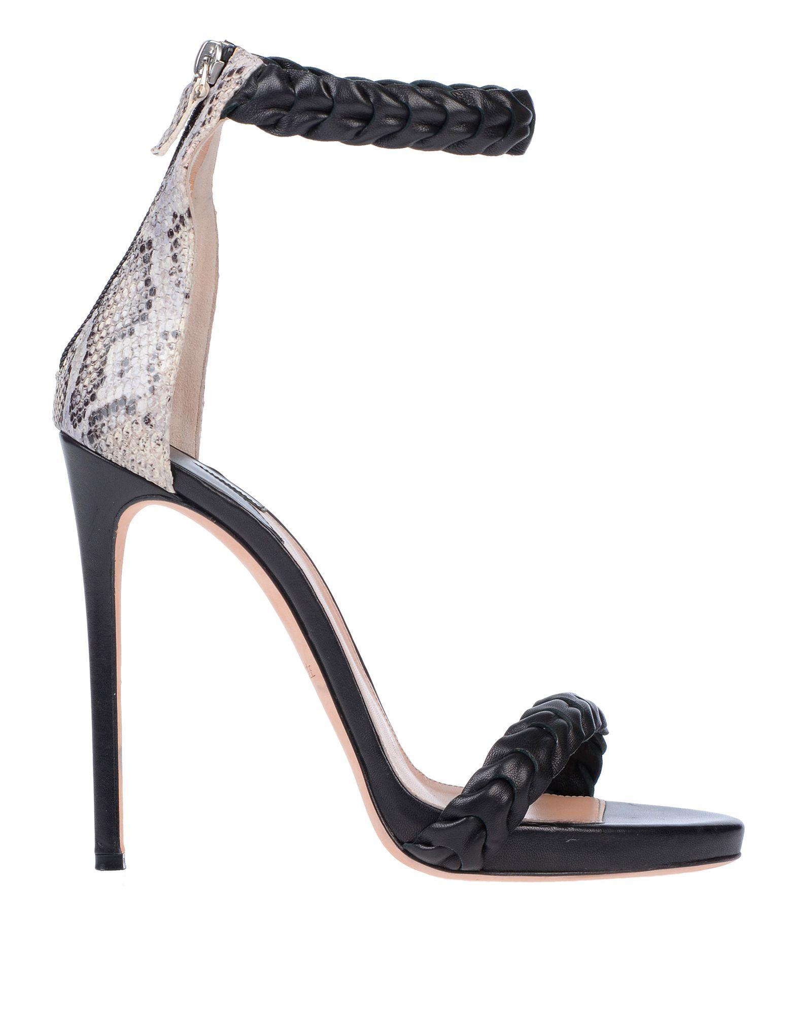 Racine Carree Black Leather Heels