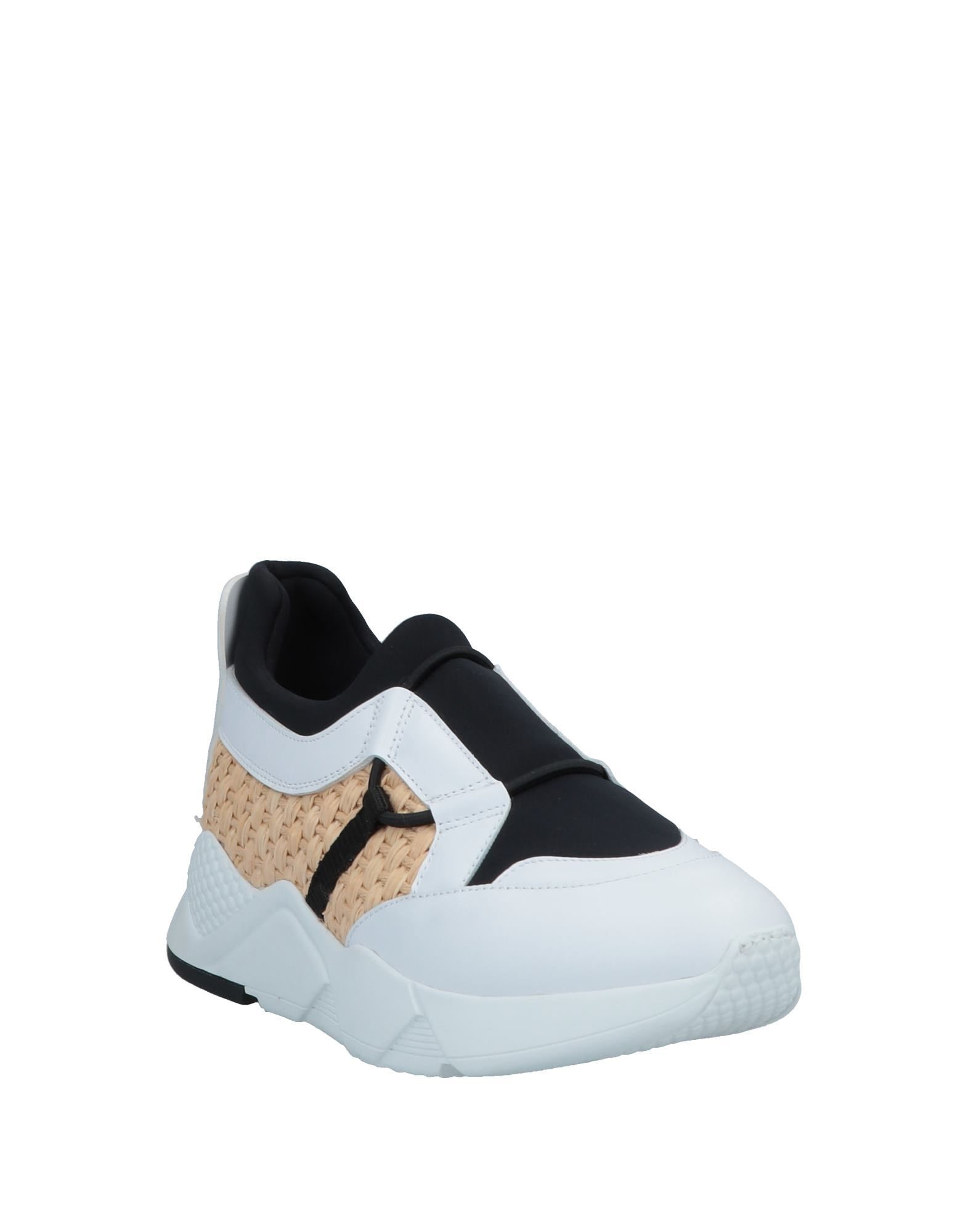 Clergerie Women's Low-Top & Sneakers Black Leather