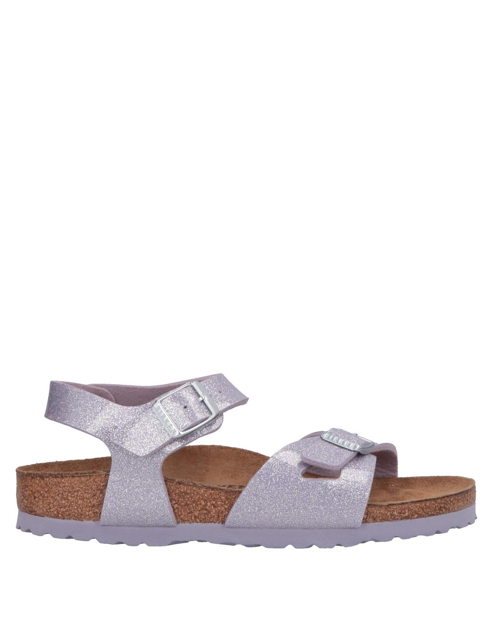 FOOTWEAR Birkenstock Lilac Girl Leather