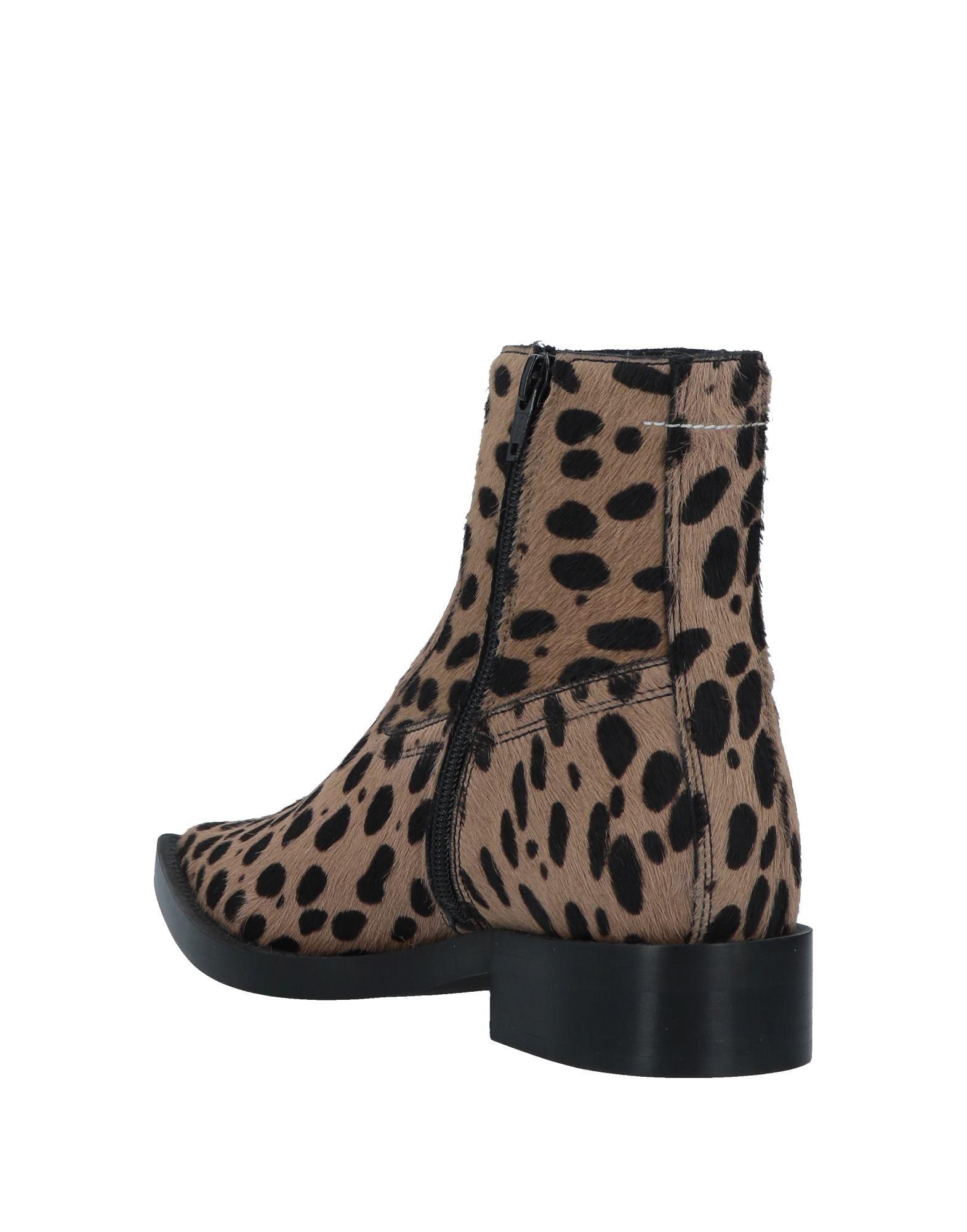 FOOTWEAR Mm6 Maison Margiela Camel Woman Leather