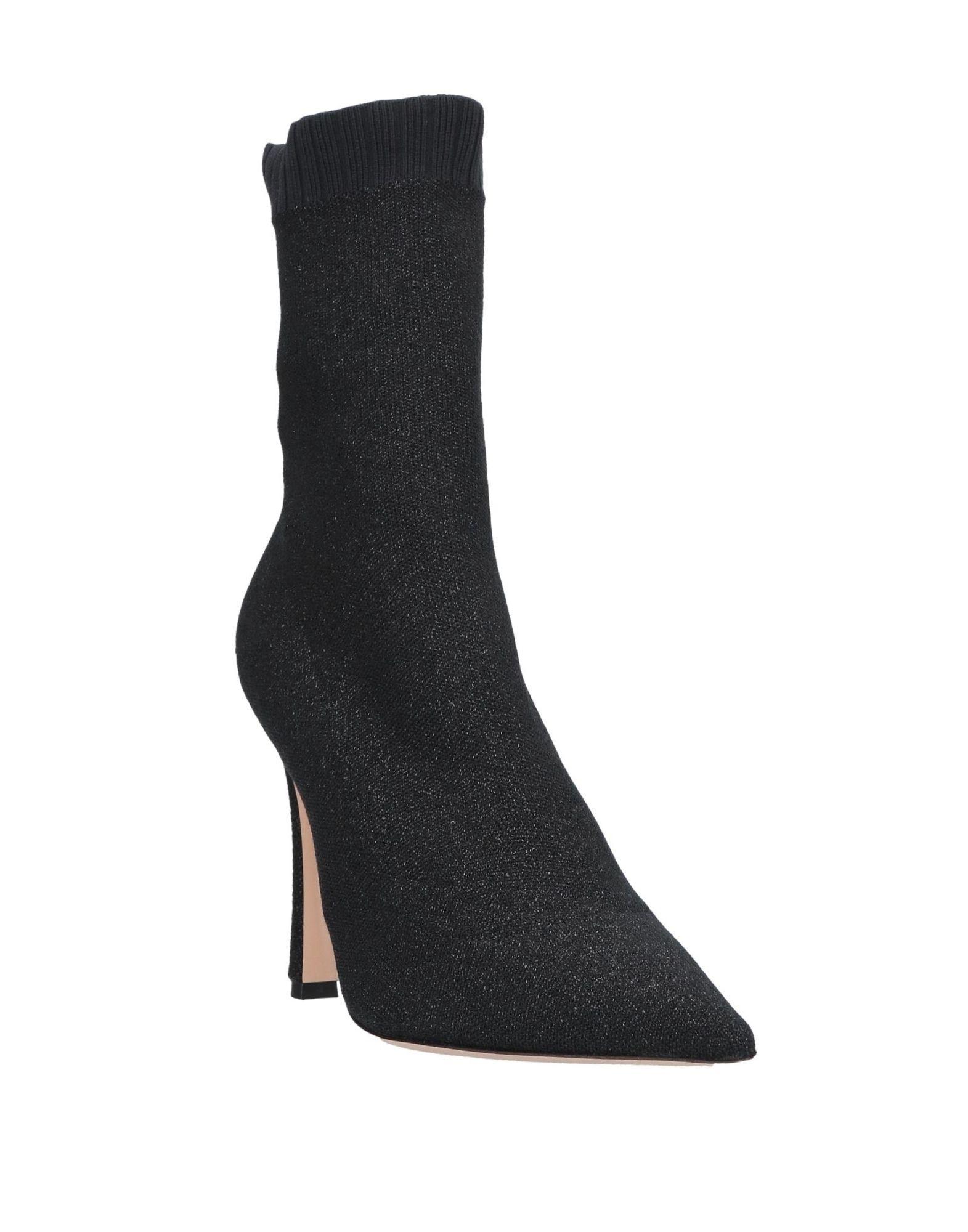 Lerre Women's Ankle Boots Black Textile Fibres