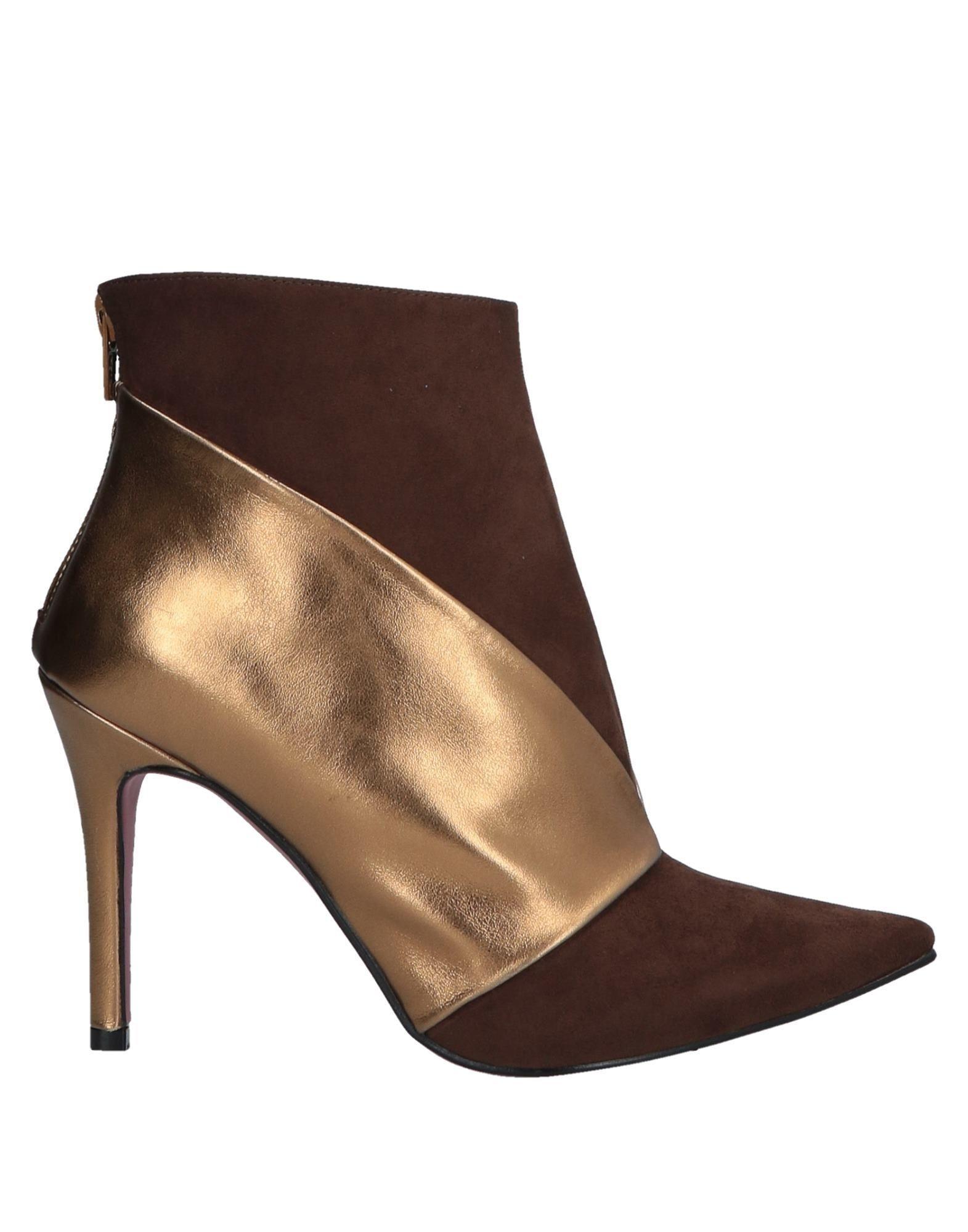 Cuplé Women's Ankle Boots Cocoa Textile Fibres