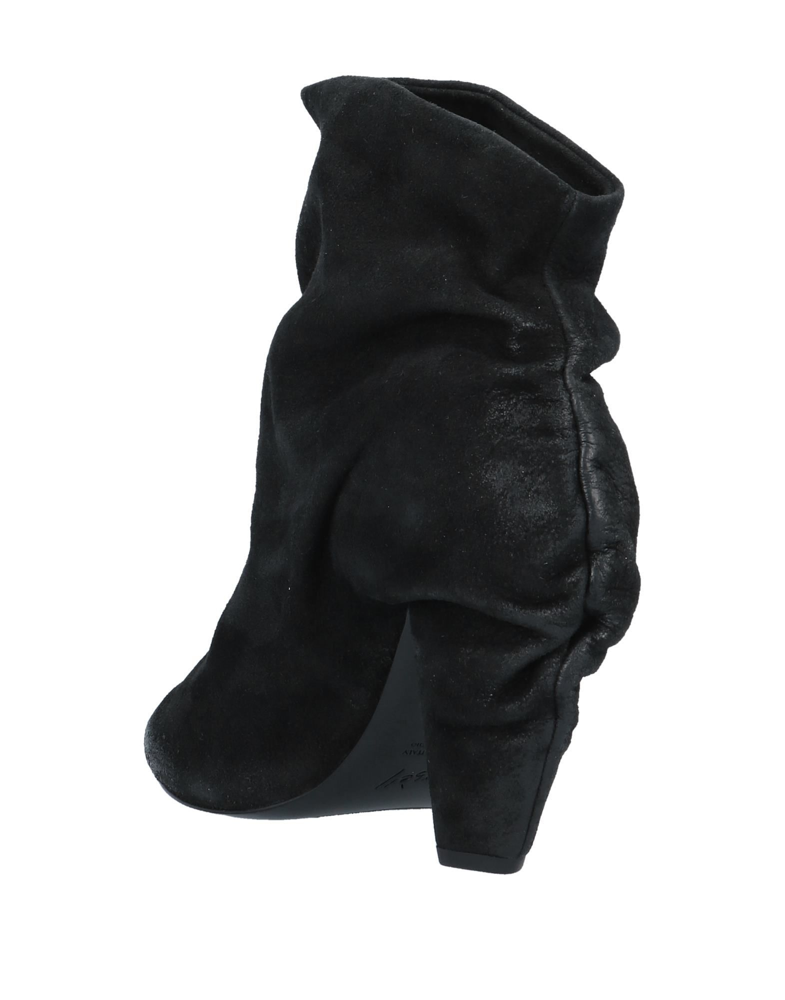 Marsèll Women's Ankle Boots Black Leather