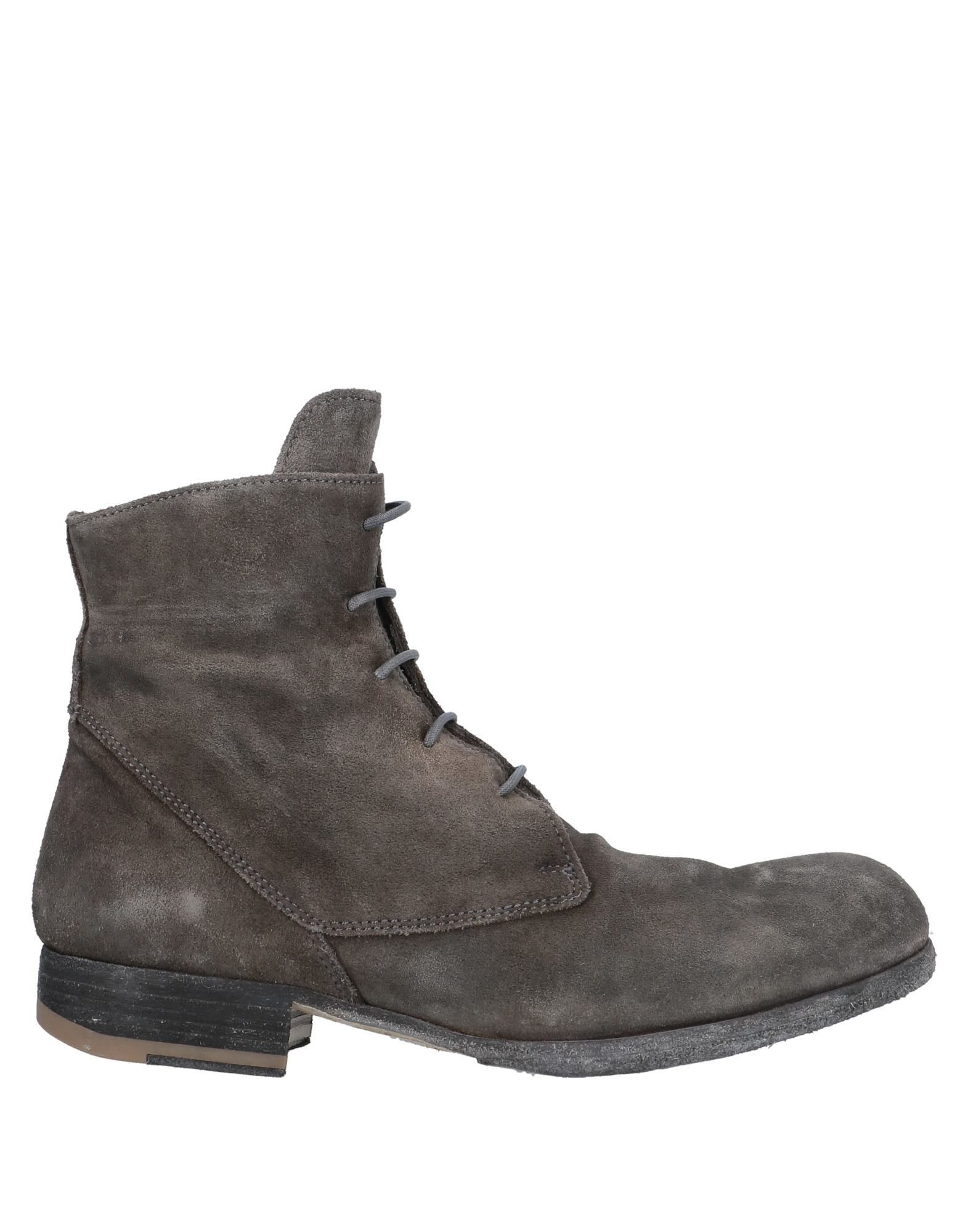 Officine Creative Italia Women's Ankle Boots Lead Leather