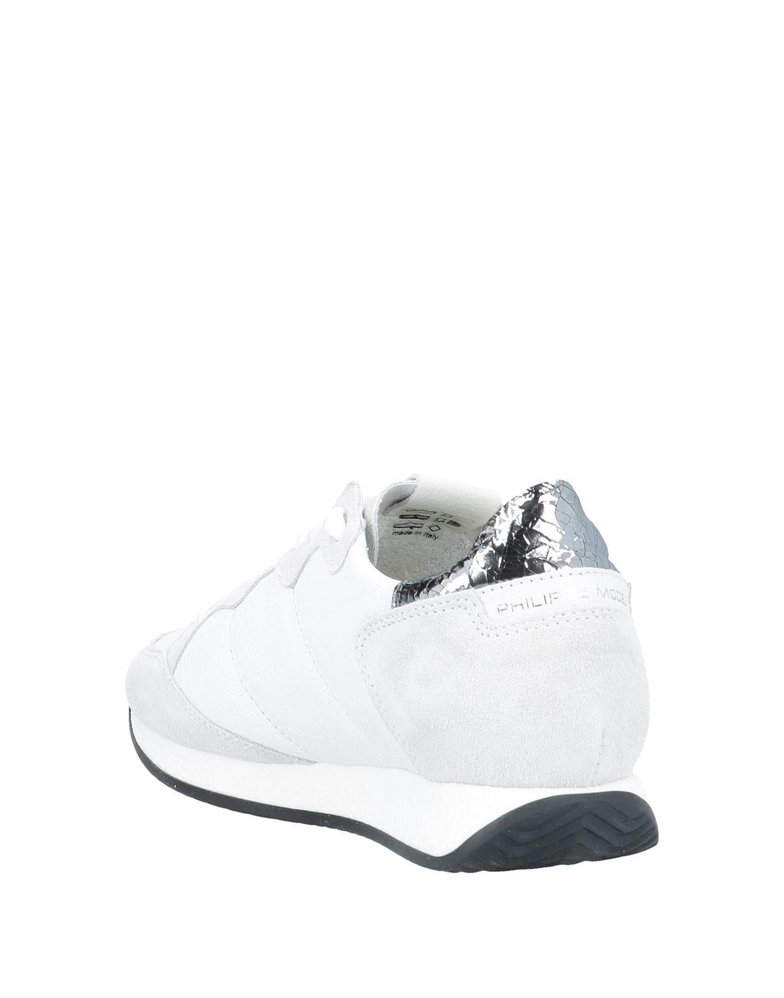 Footwear Philippe Model Light Grey Women's Leather