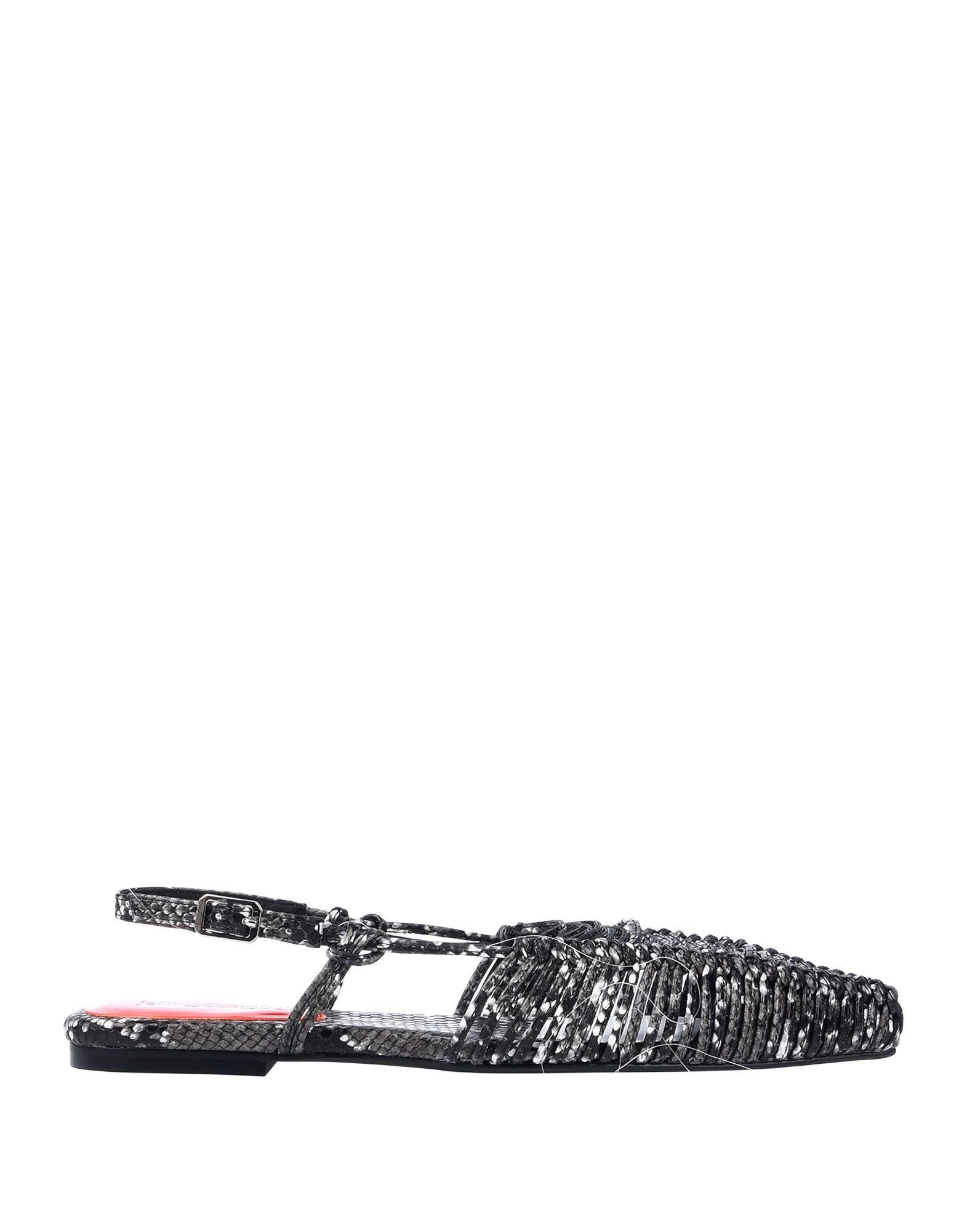 Jeffrey Campbell Women's Sandals Black Textile Fibres