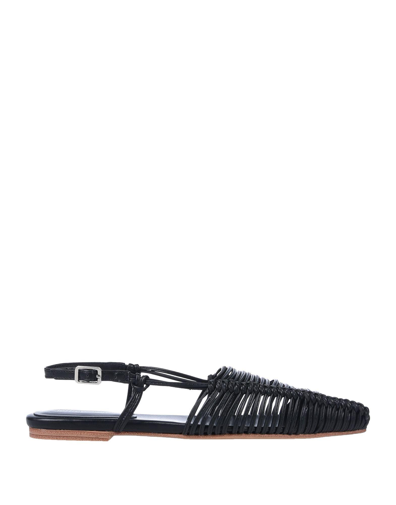Jeffrey Campbell Women's Sandals Black Polyurethane