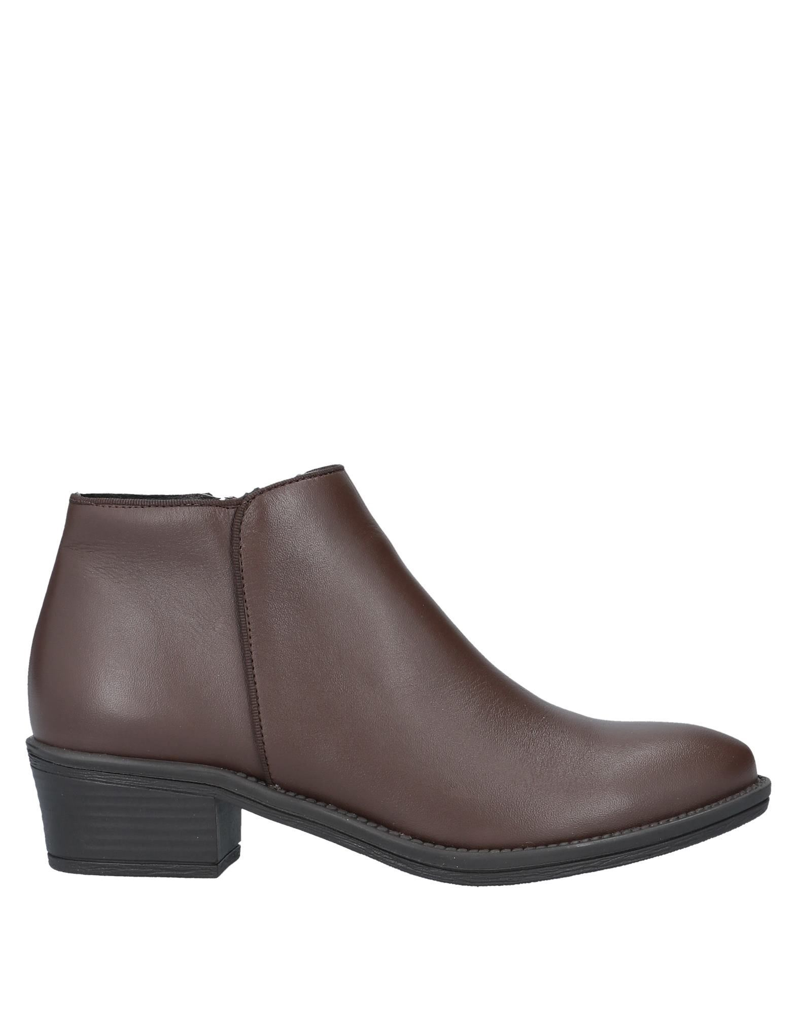 Cuplé Women's Ankle Boots Cocoa Leather