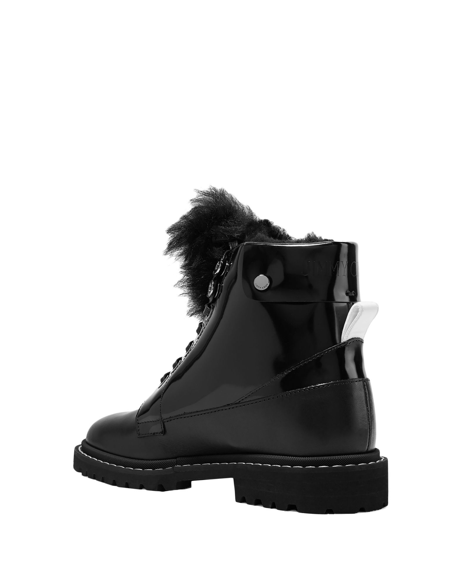 Jimmy Choo Black Lace Up Boots