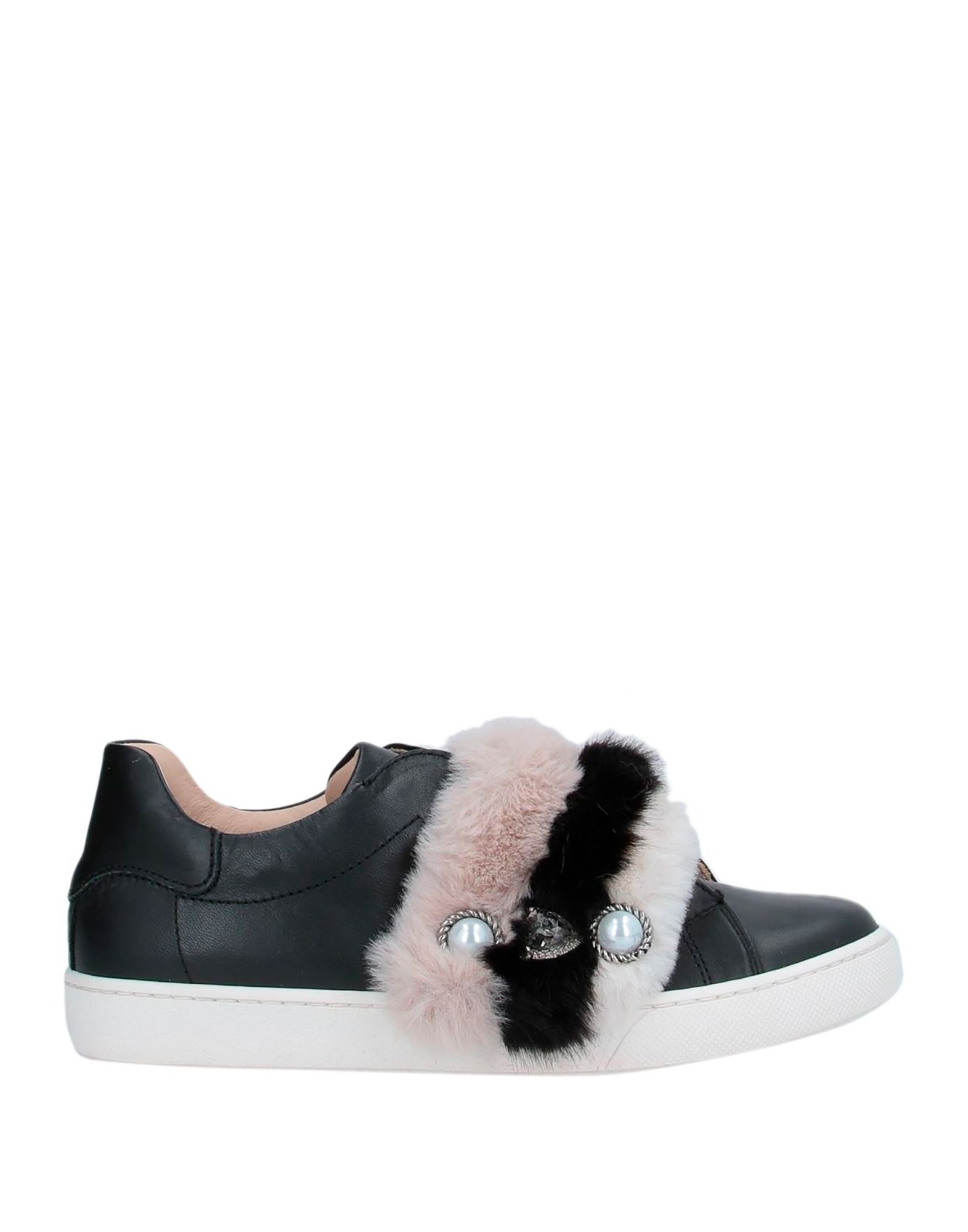 Florens Black Girl Leather Shoes