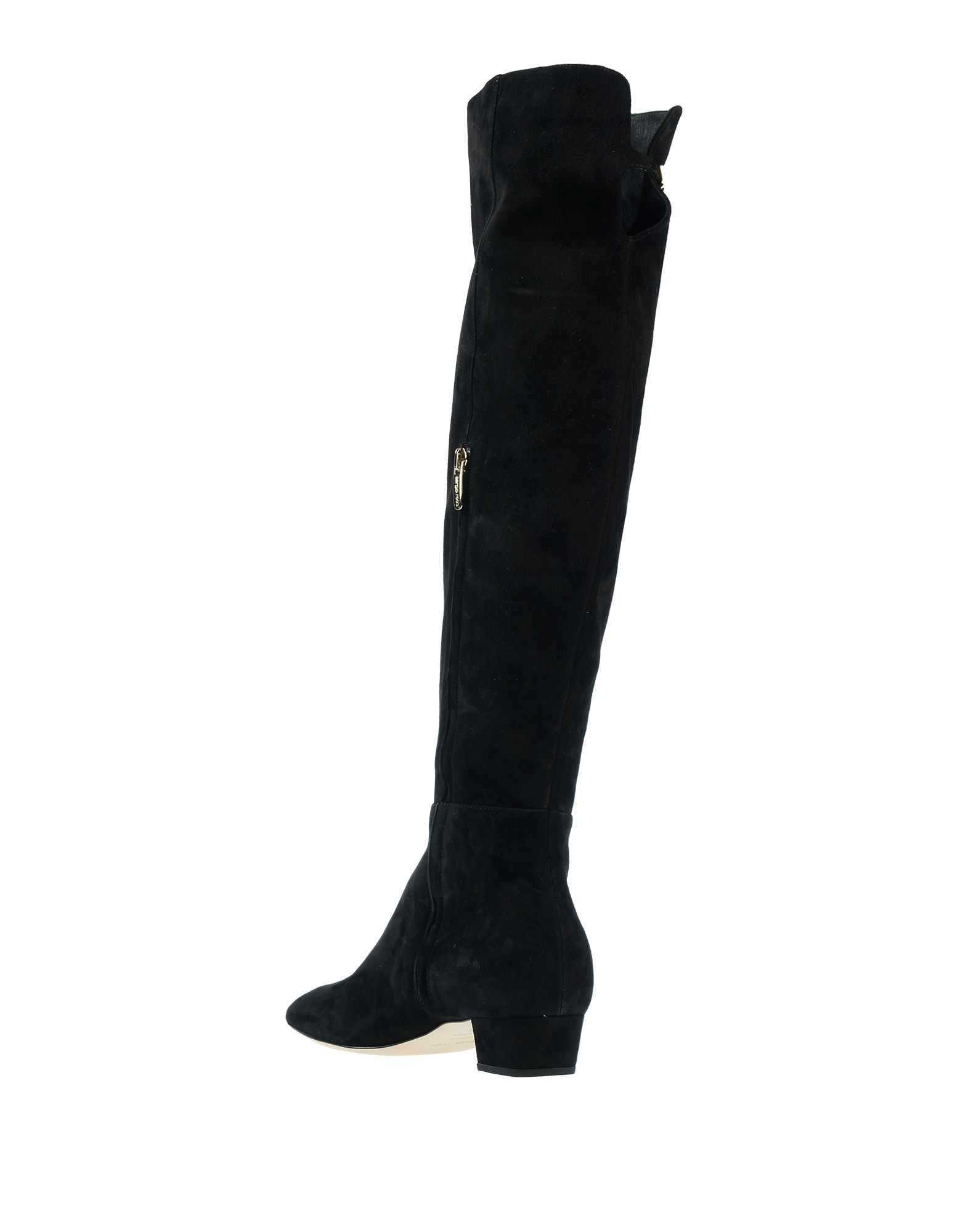 Sergio Rossi Women's Boots Black Leather