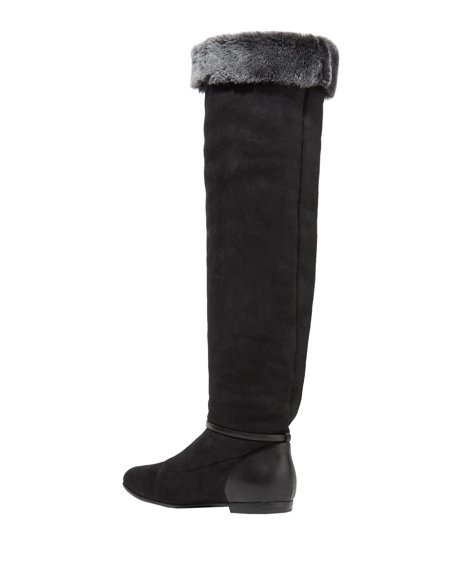 FOOTWEAR Giuseppe Zanotti Black Woman Leather