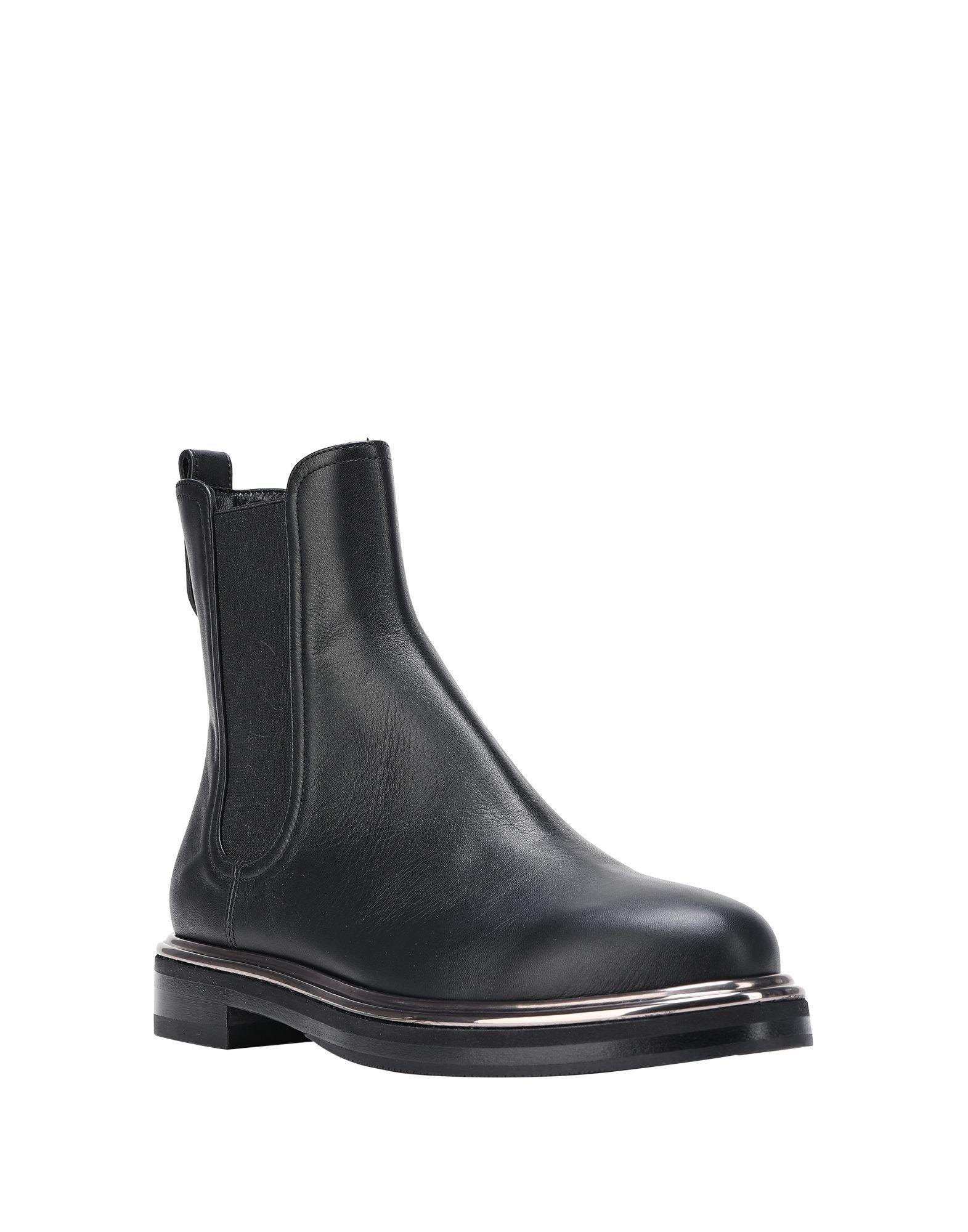 Le Silla Women's Ankle Boots Black Leather