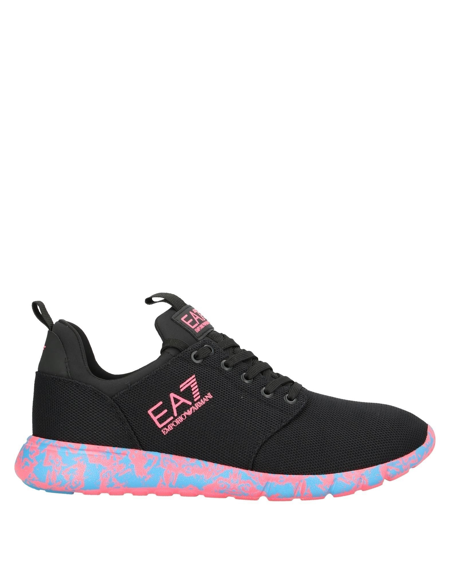 EA7 Black Sneakers