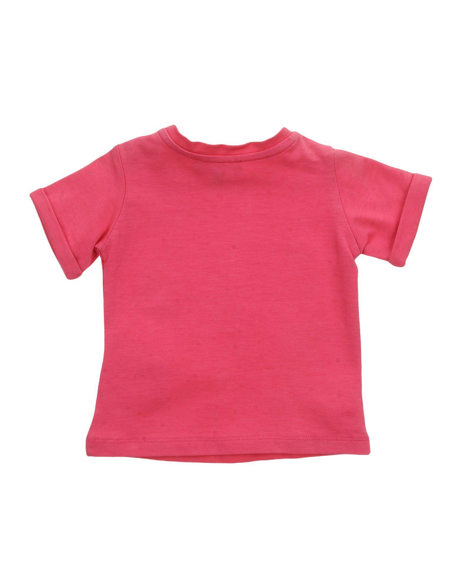 Roberto Cavalli Junior Fuchsia Cotton T-shirt