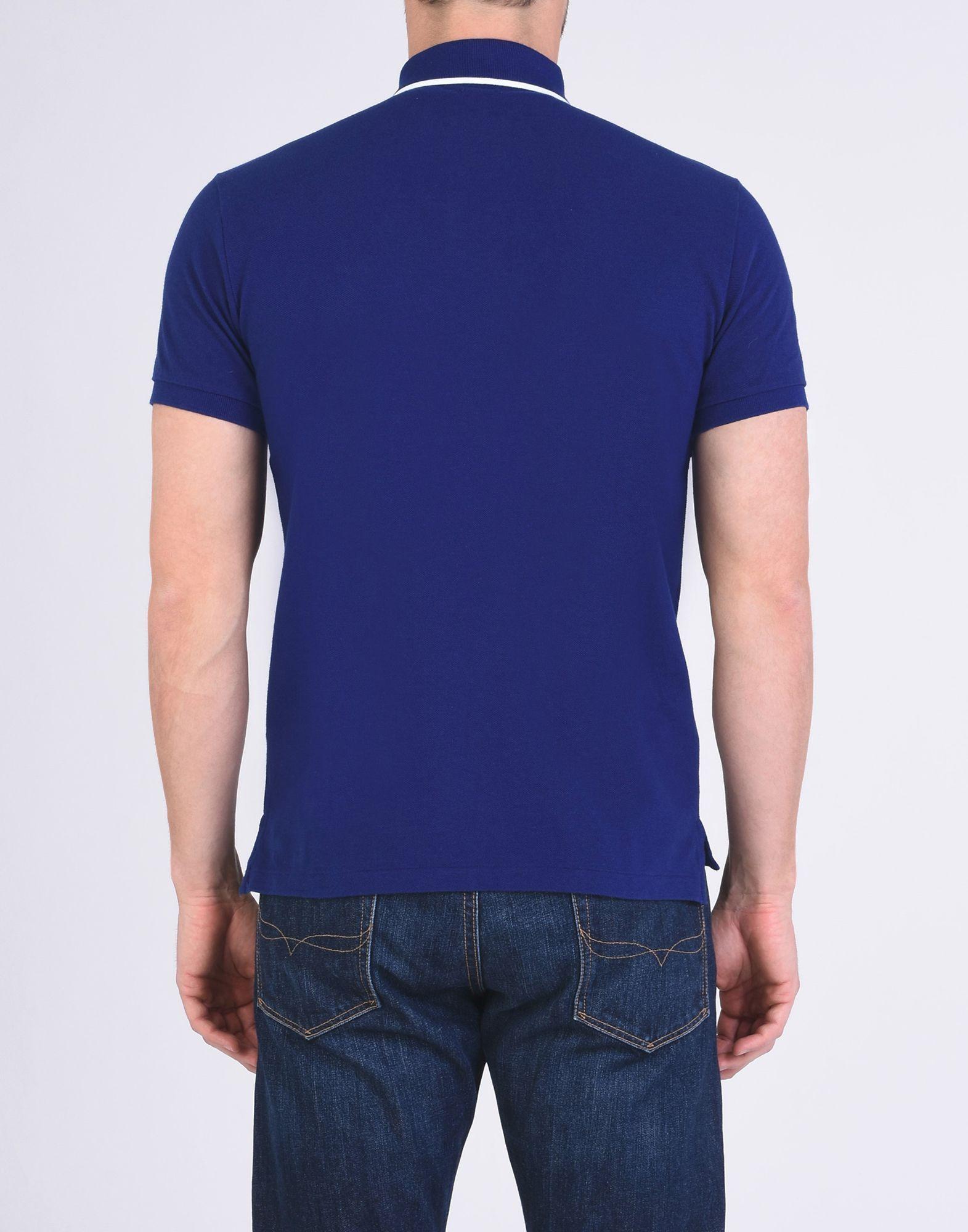 TOPWEAR Polo Ralph Lauren Bright blue Man Cotton
