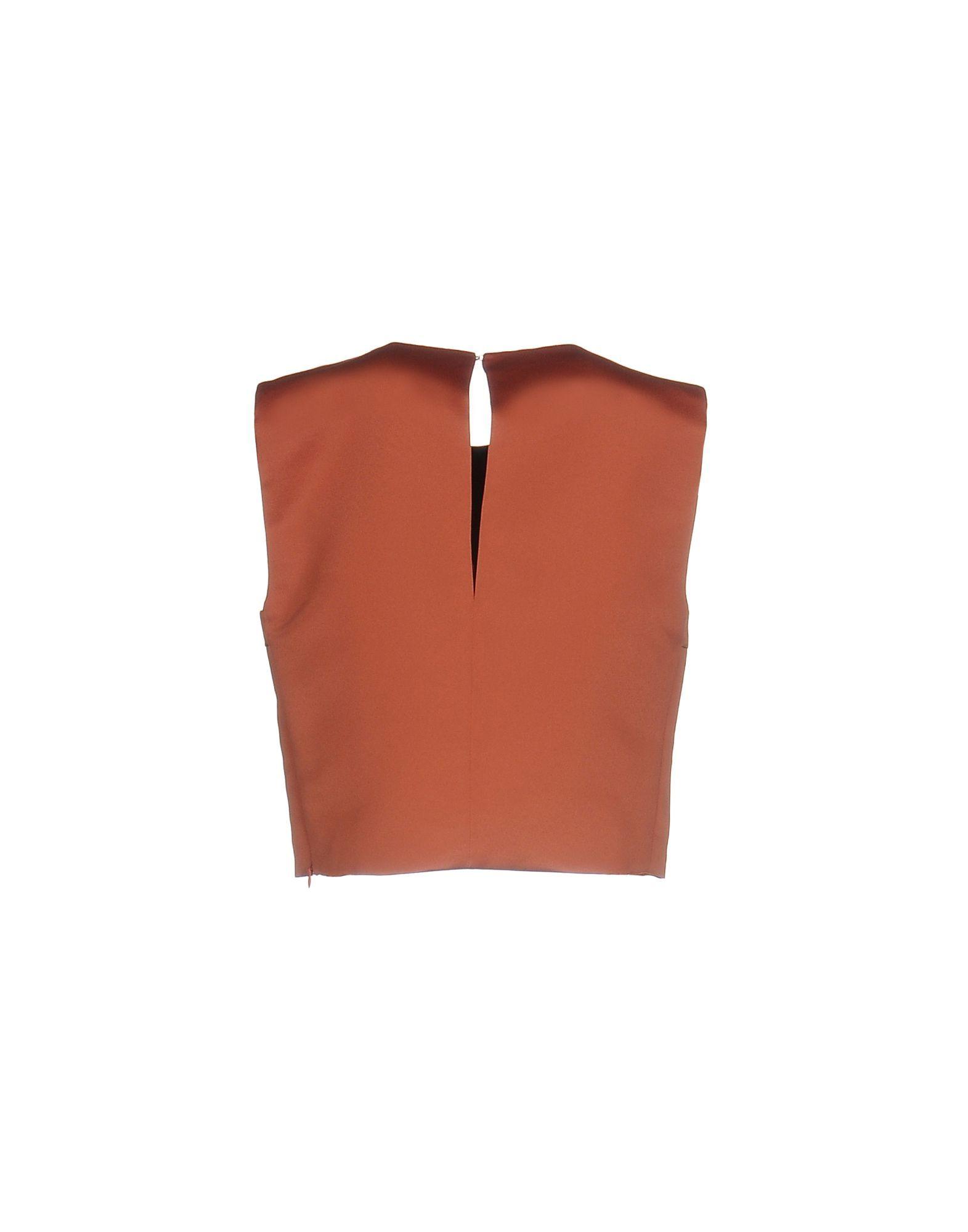 Pinko Rust Cropped Top