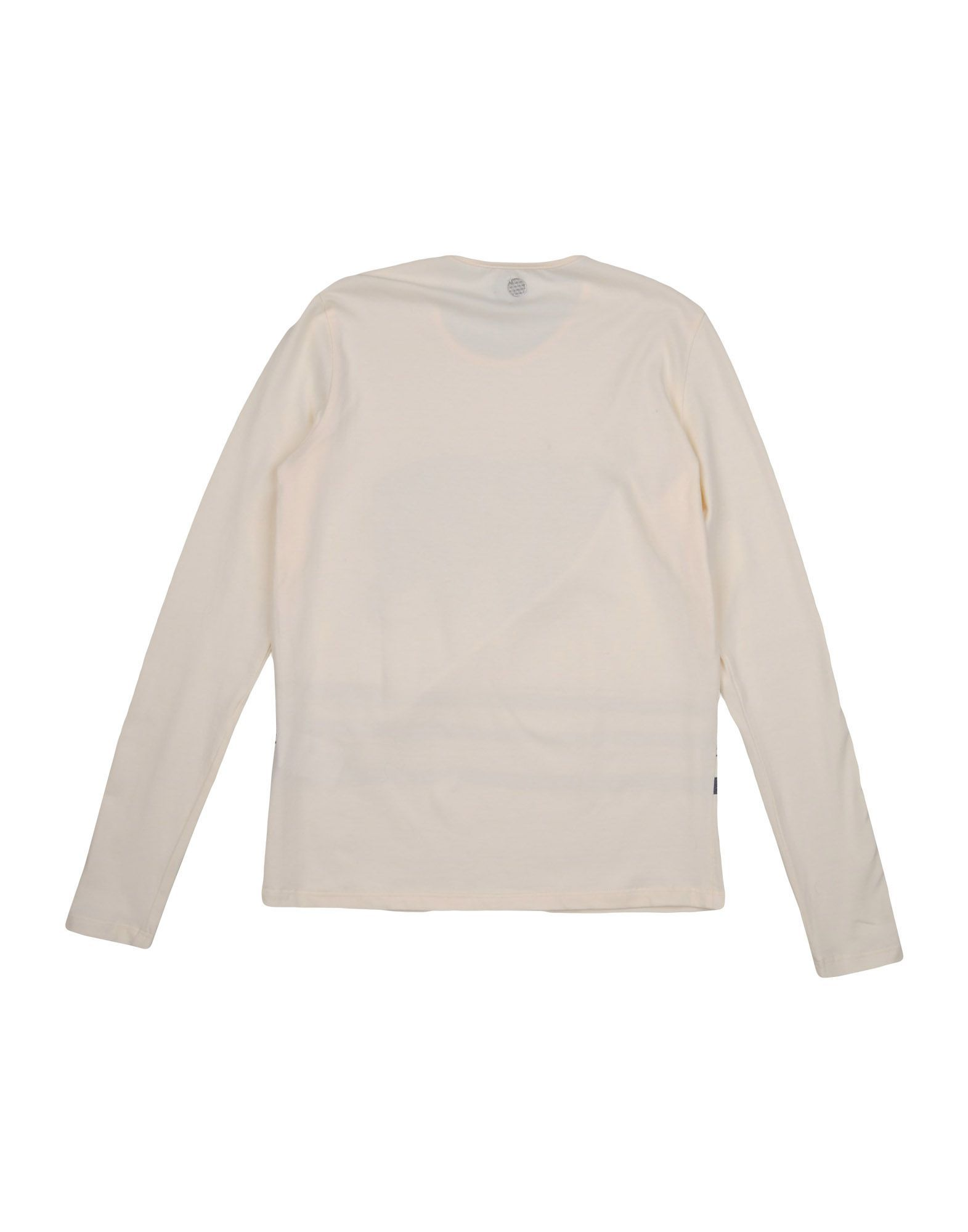 TOPWEAR Parrot Ivory Girl Cotton