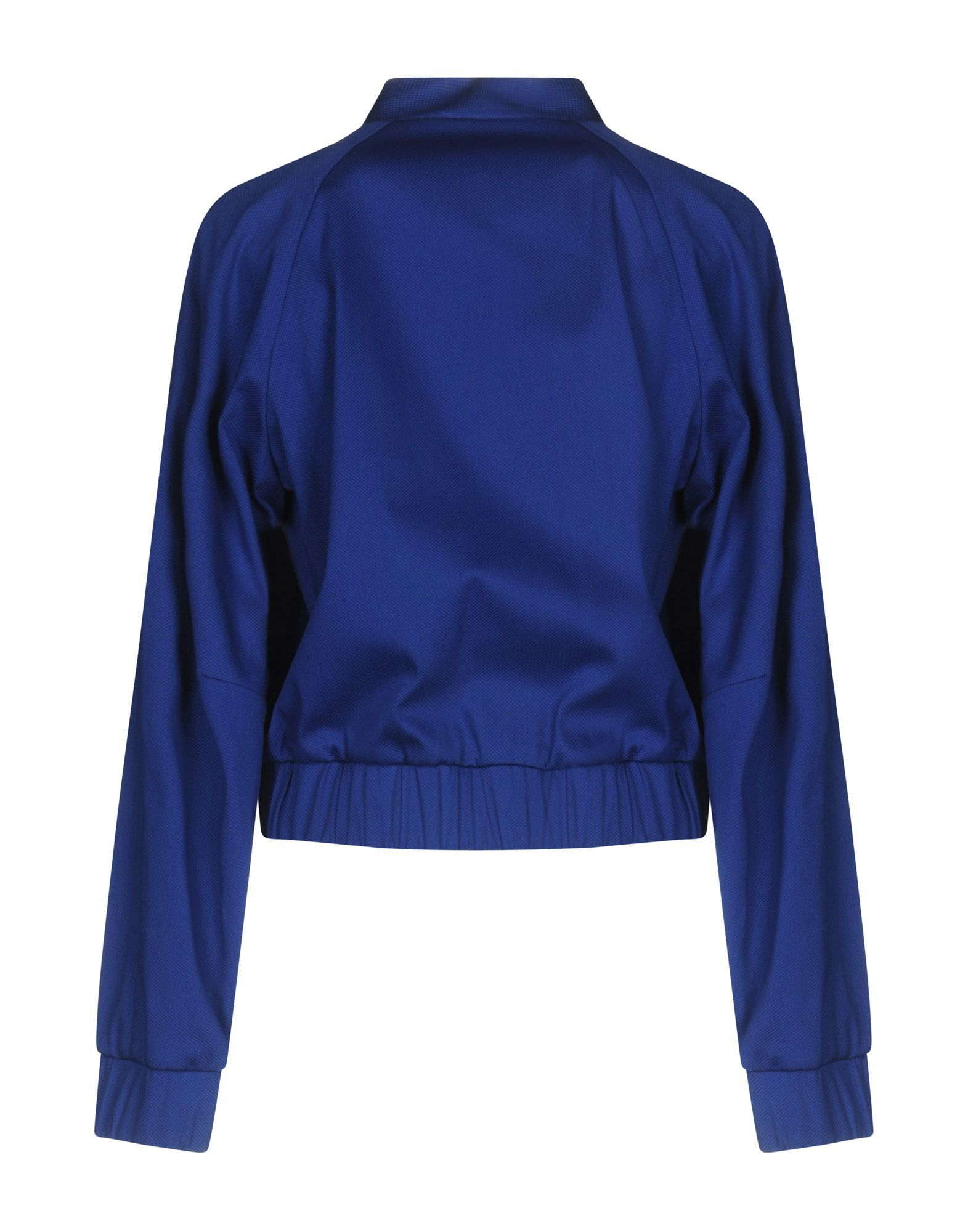 P.A.R.O.S.H. Blue Cotton Bomber Jacket