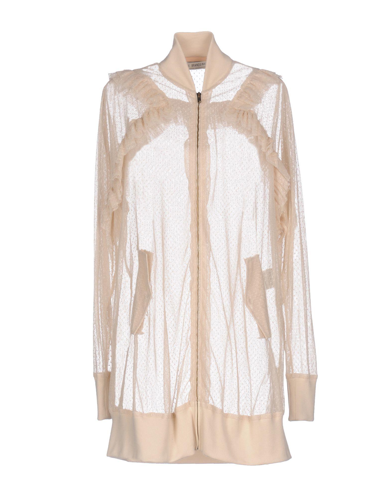 Veronique Branquinho Ivory Cotton Tulle Bomber Jacket