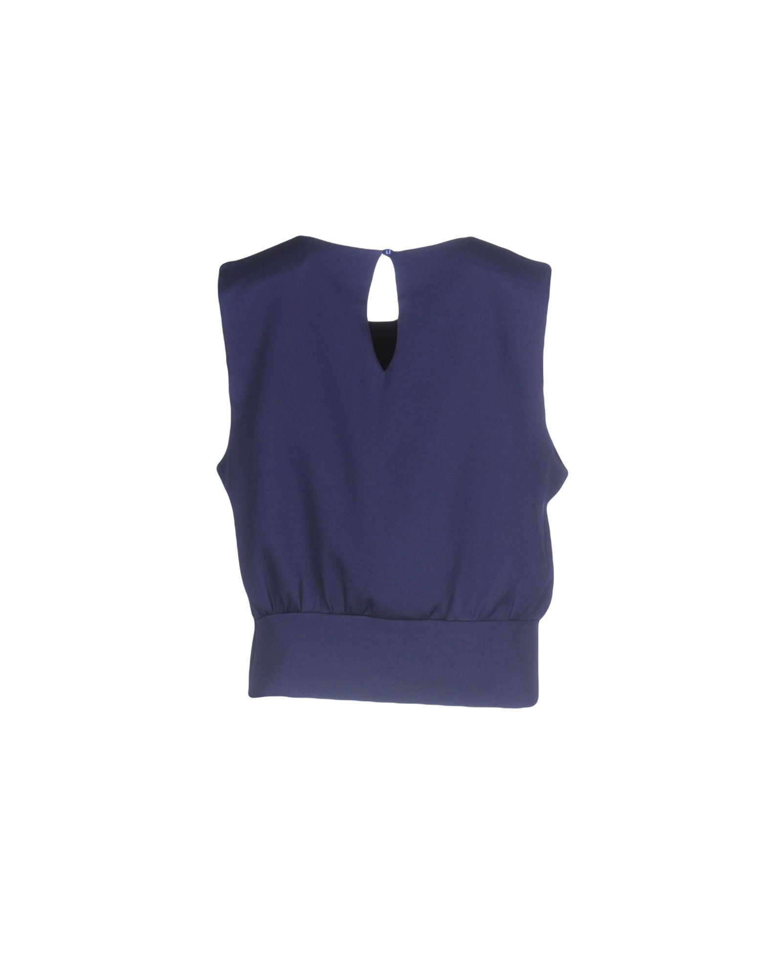TOPWEAR Cutie Dark blue Woman Polyester