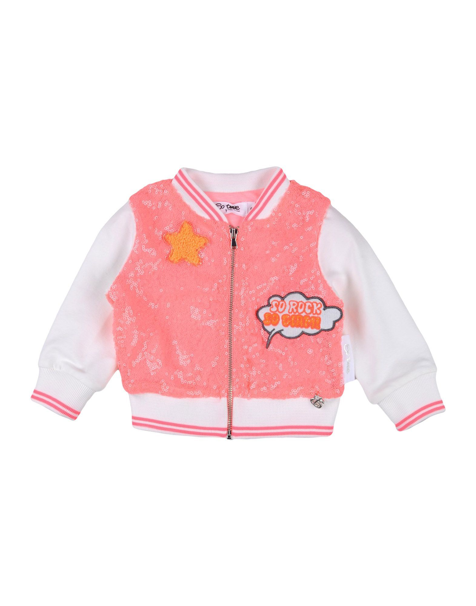 TOPWEAR Girl So Twee By Miss Grant Coral Polyester
