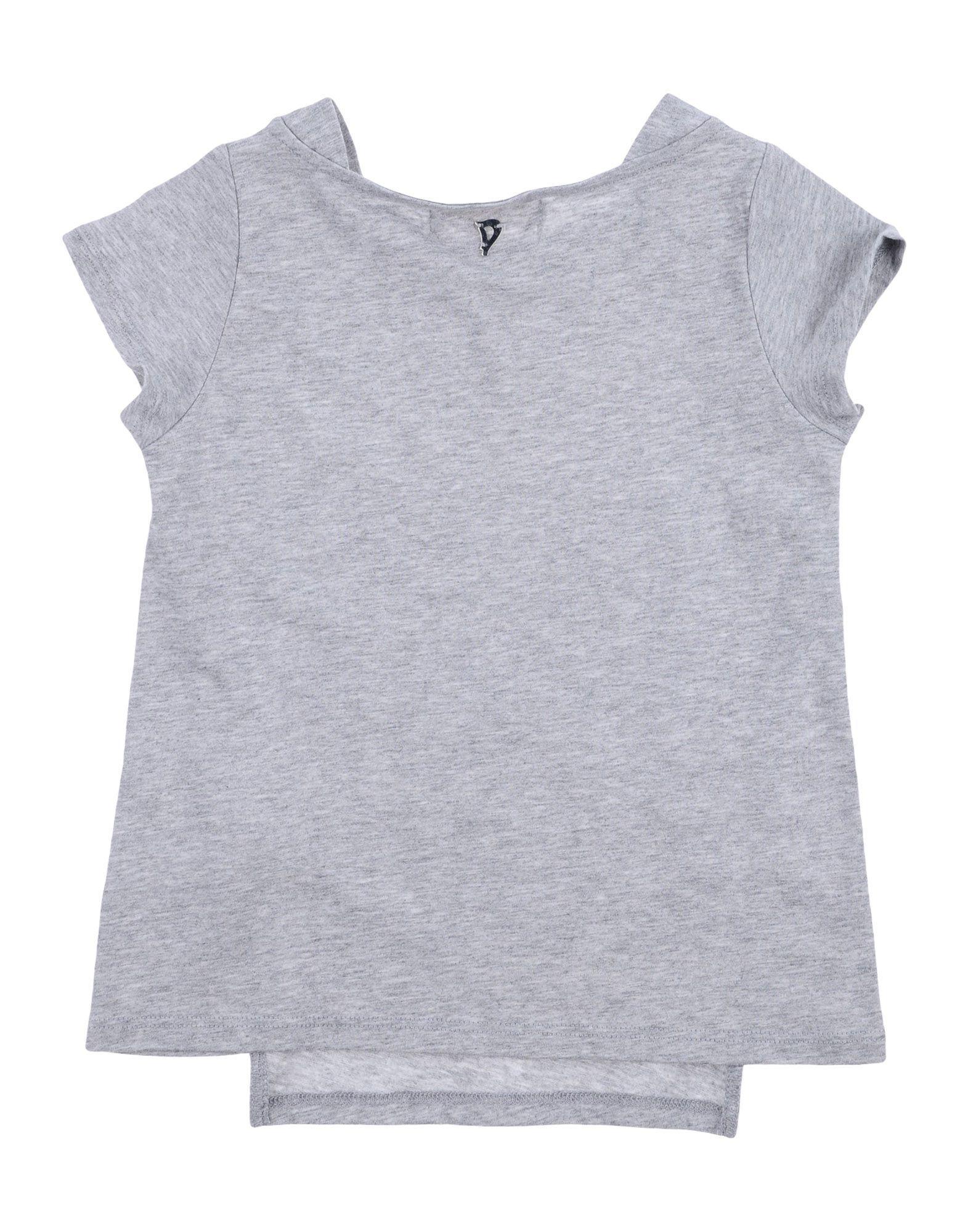TOPWEAR Dondup Light grey Girl Cotton