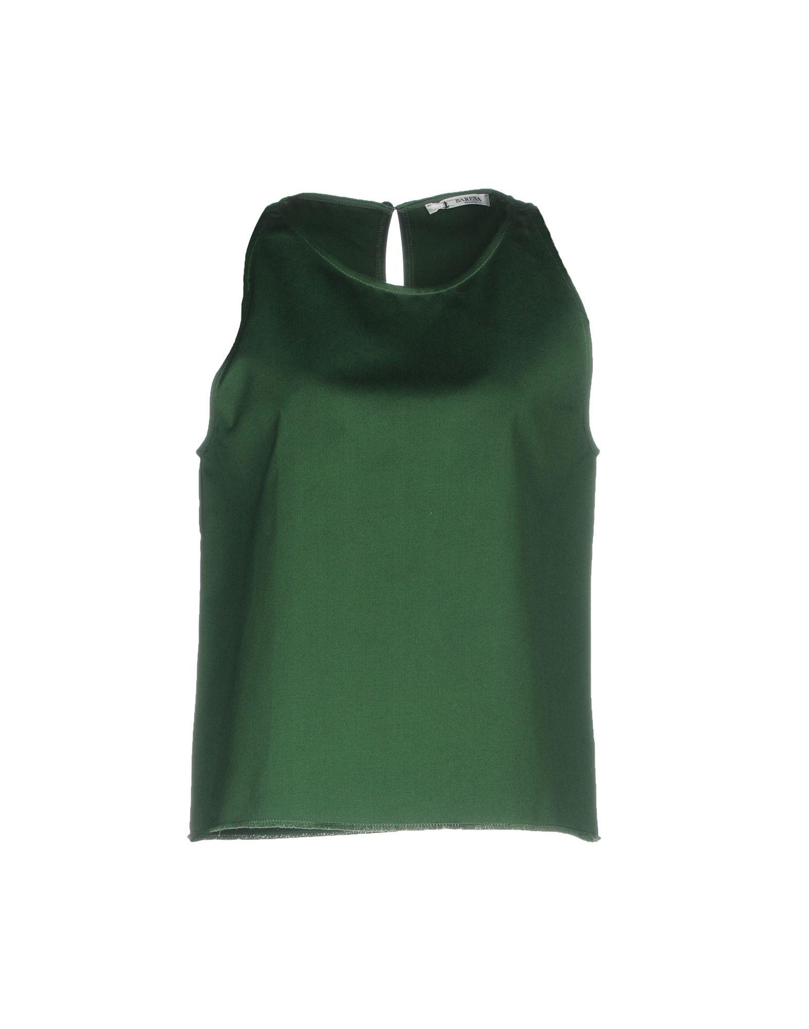 Topwear Barena Green Women's Cotton