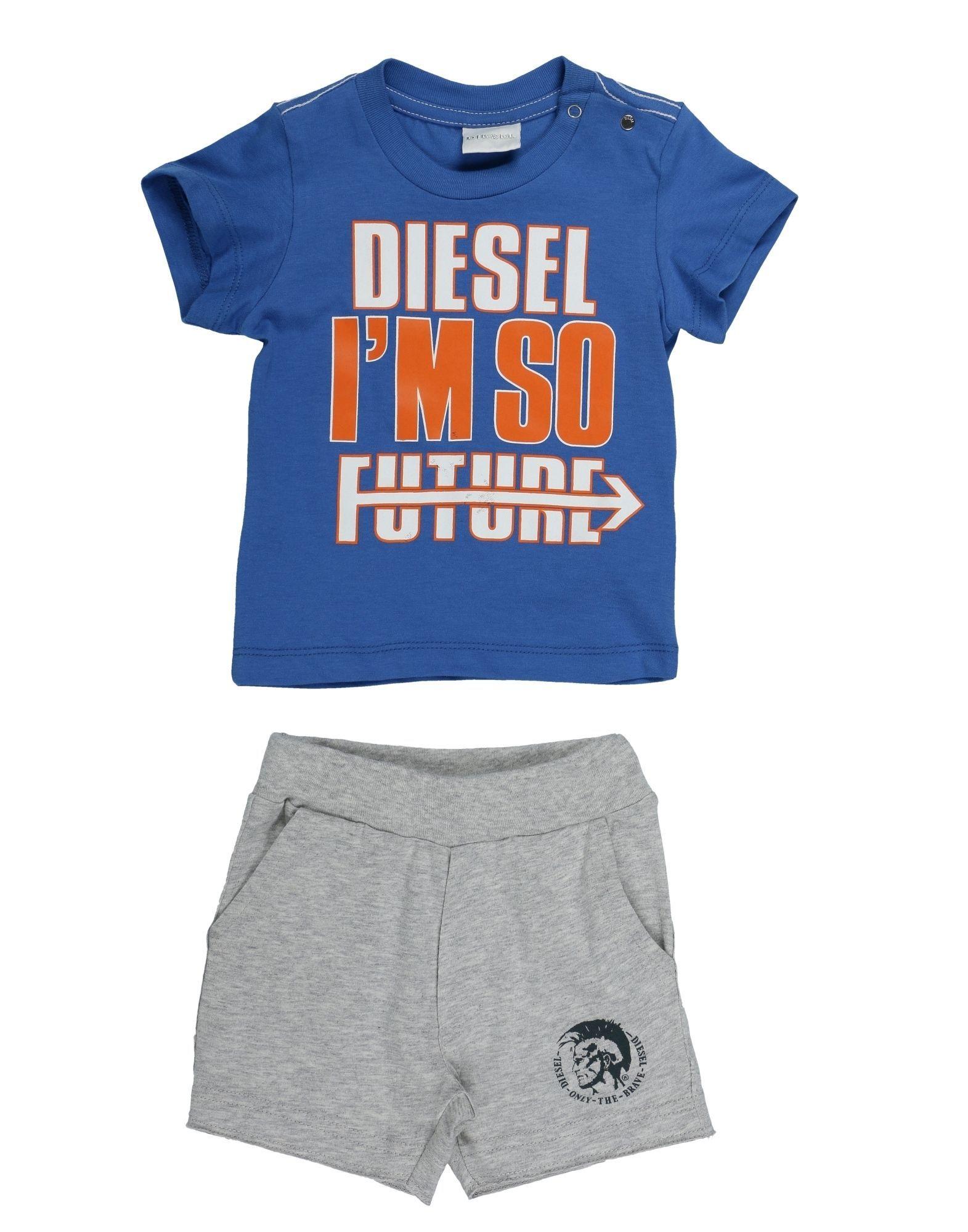 BODYSUITS & SETS Diesel Blue Man Cotton