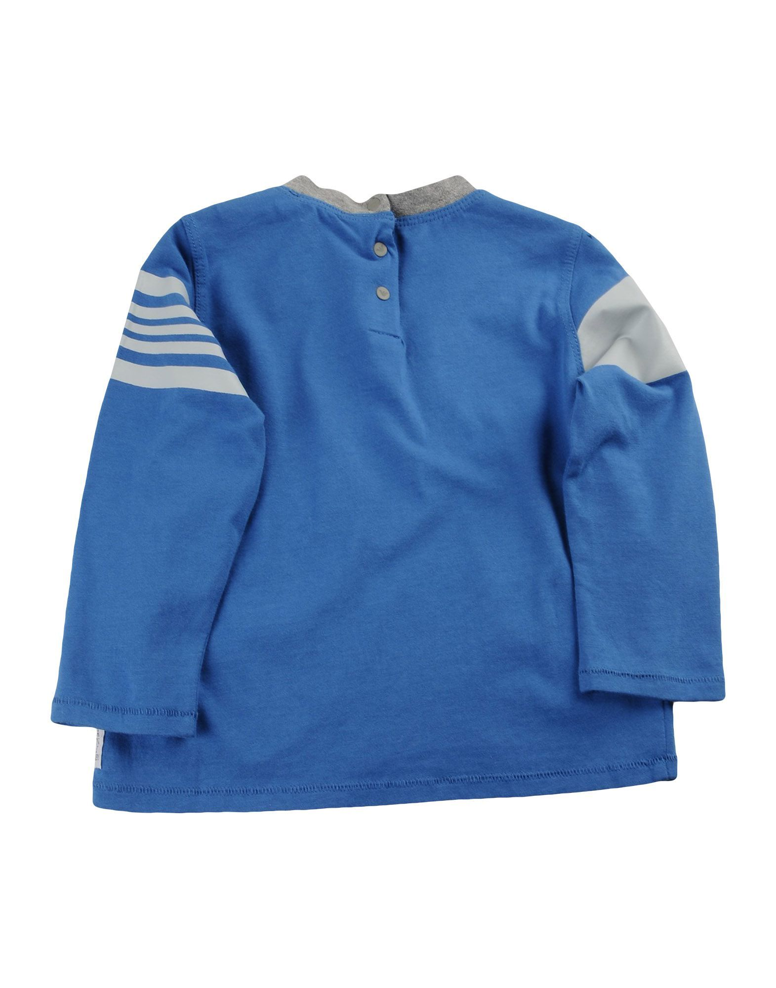 TOPWEAR Armani Junior Azure Boy Cotton