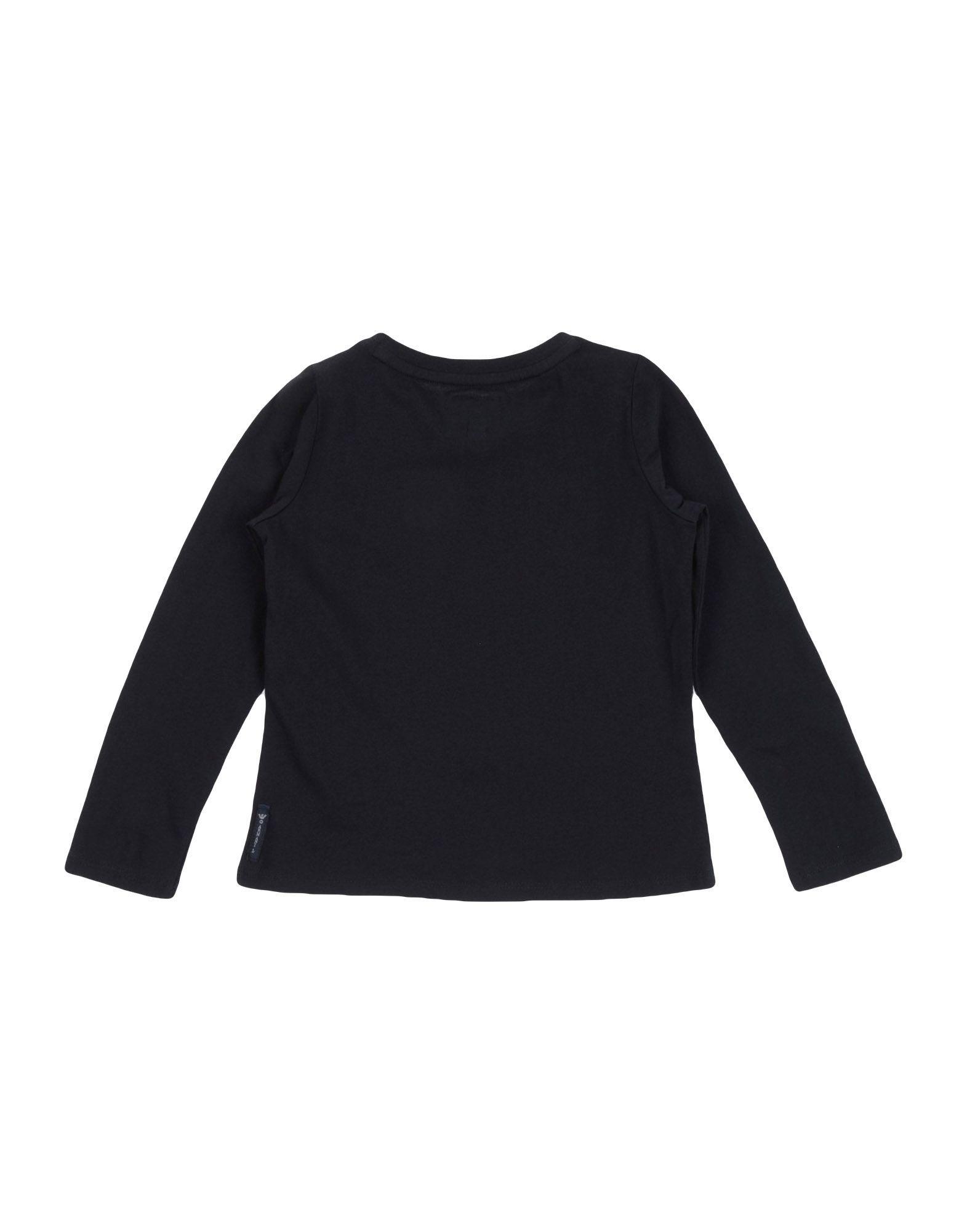 TOPWEAR Armani Junior Black Girl Cotton