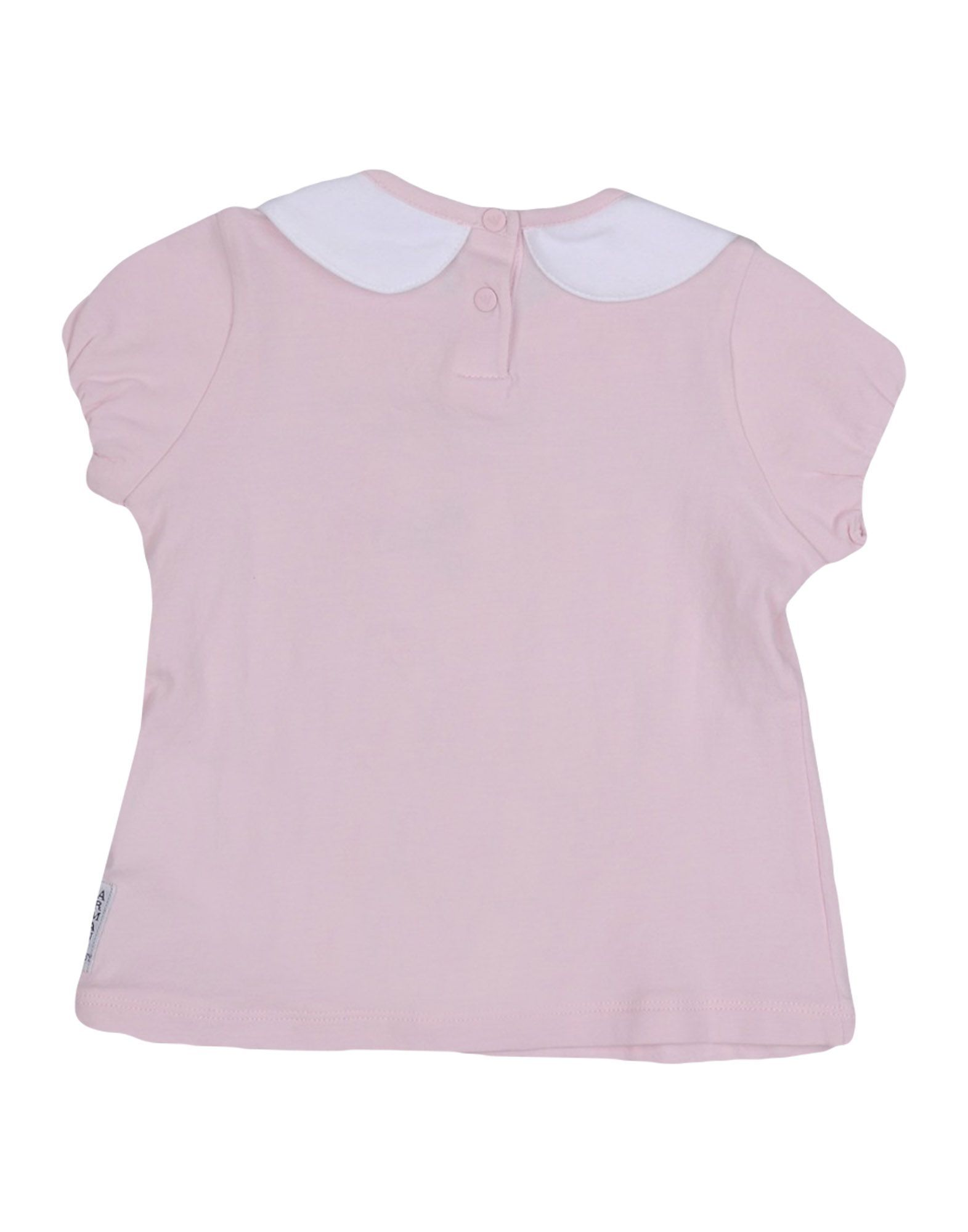 TOPWEAR Armani Junior White Girl Cotton
