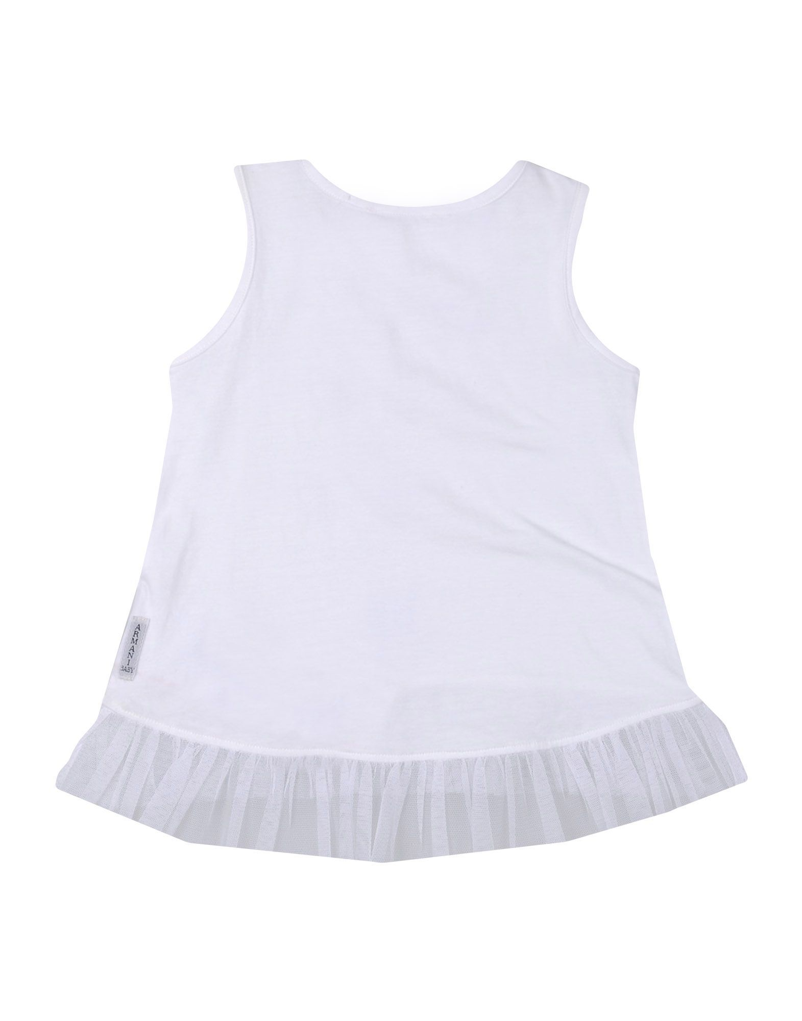 TOPWEAR Armani Junior Lilac Girl Cotton