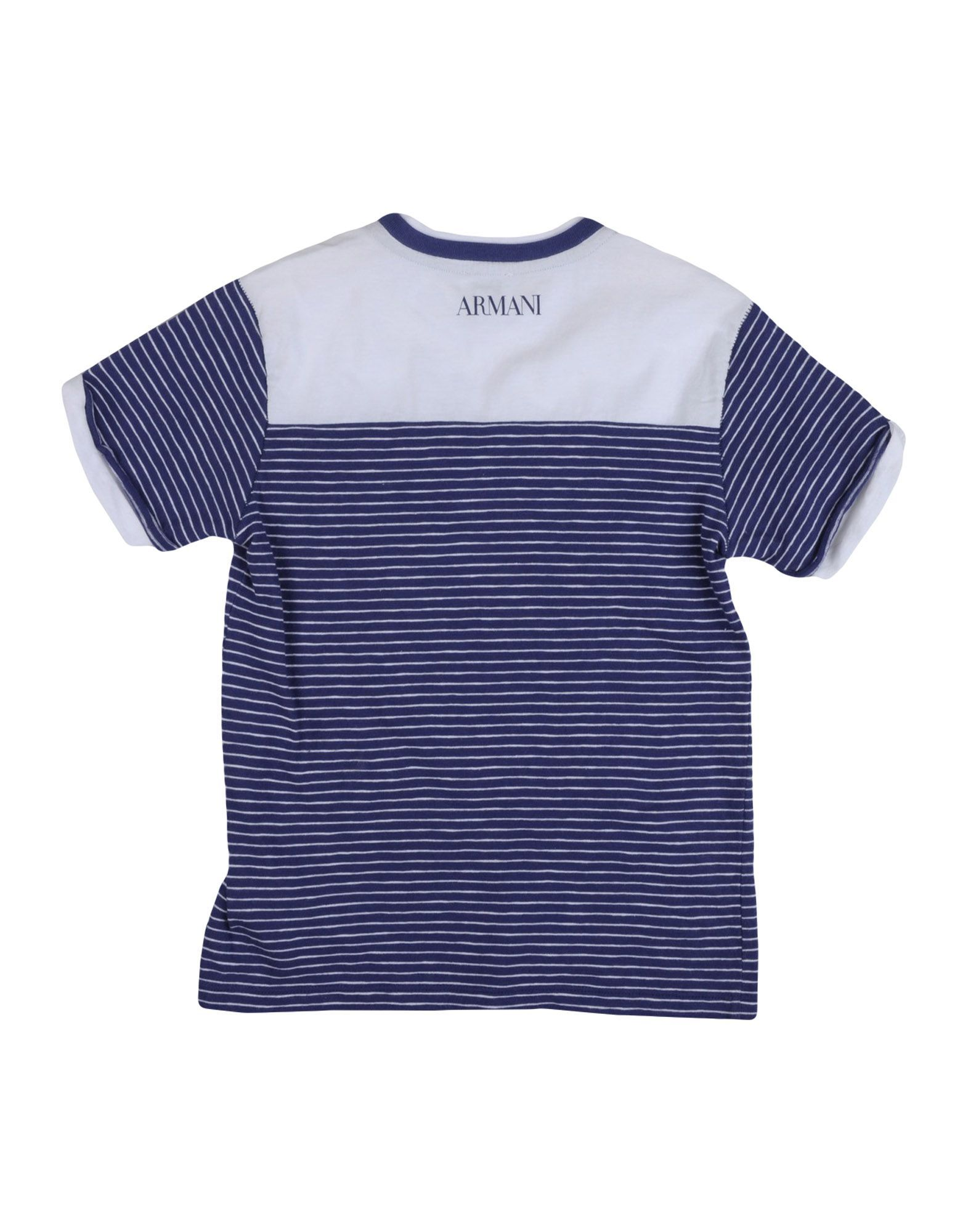 TOPWEAR Armani Junior Blue Boy Cotton