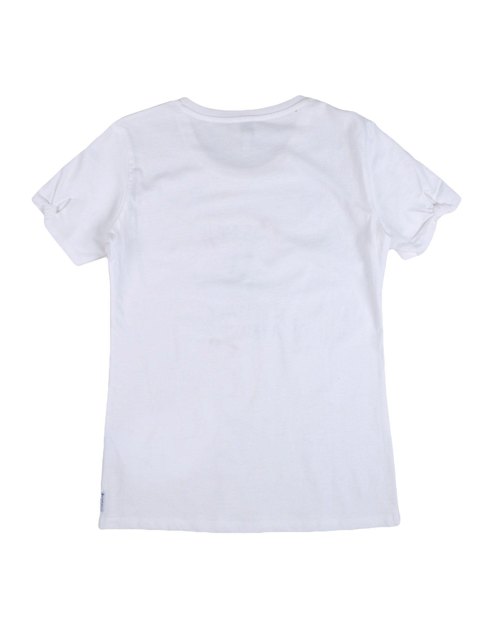 Armani Junior White Girls T-Shirt