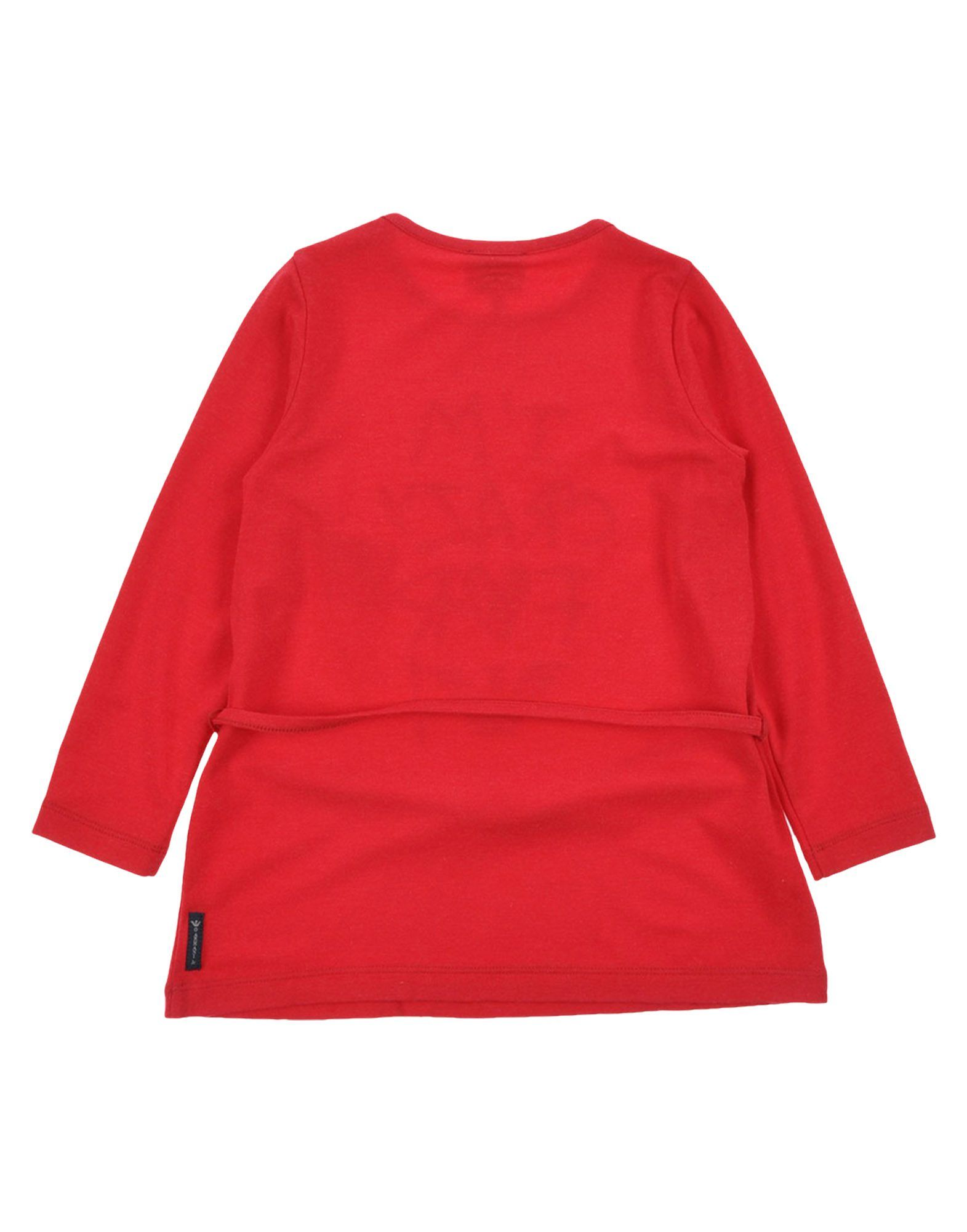 Armani Junior Red Girls T-Shirt
