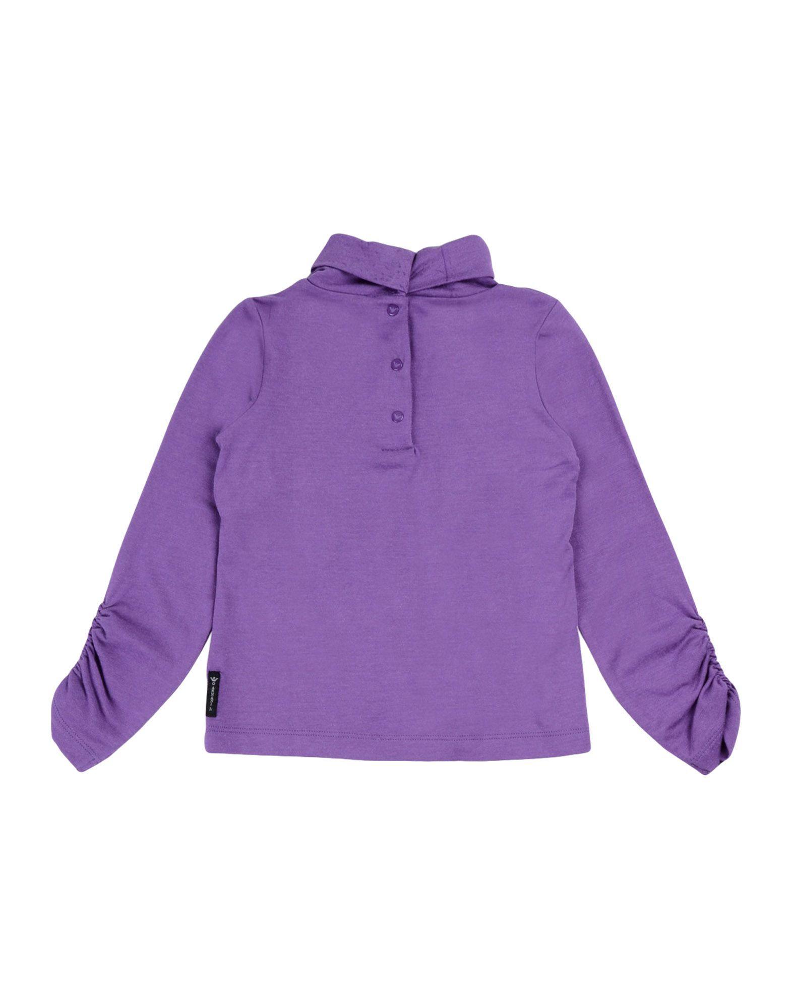 TOPWEAR Armani Junior Purple Girl Viscose