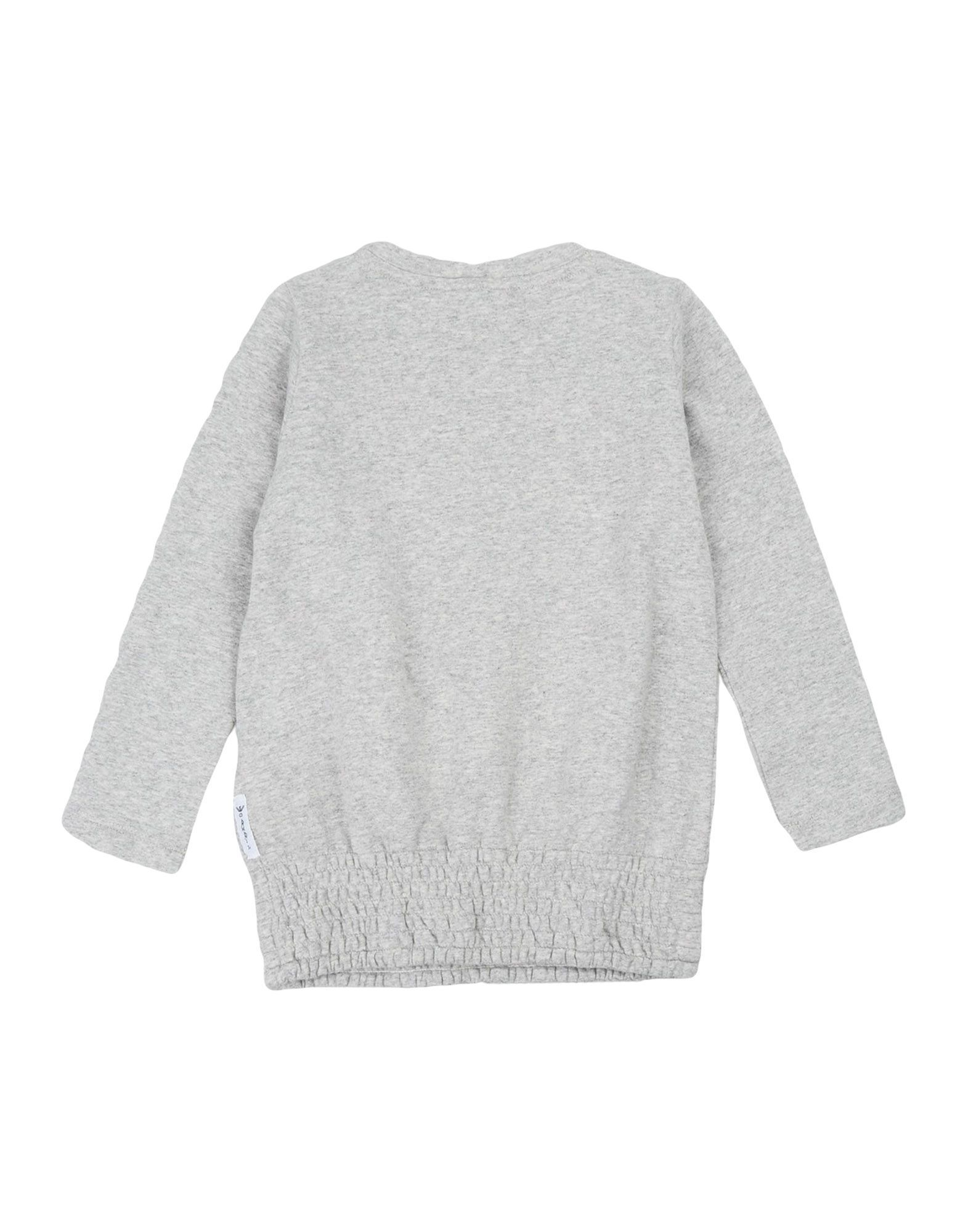 TOPWEAR Armani Junior Light grey Girl Cotton