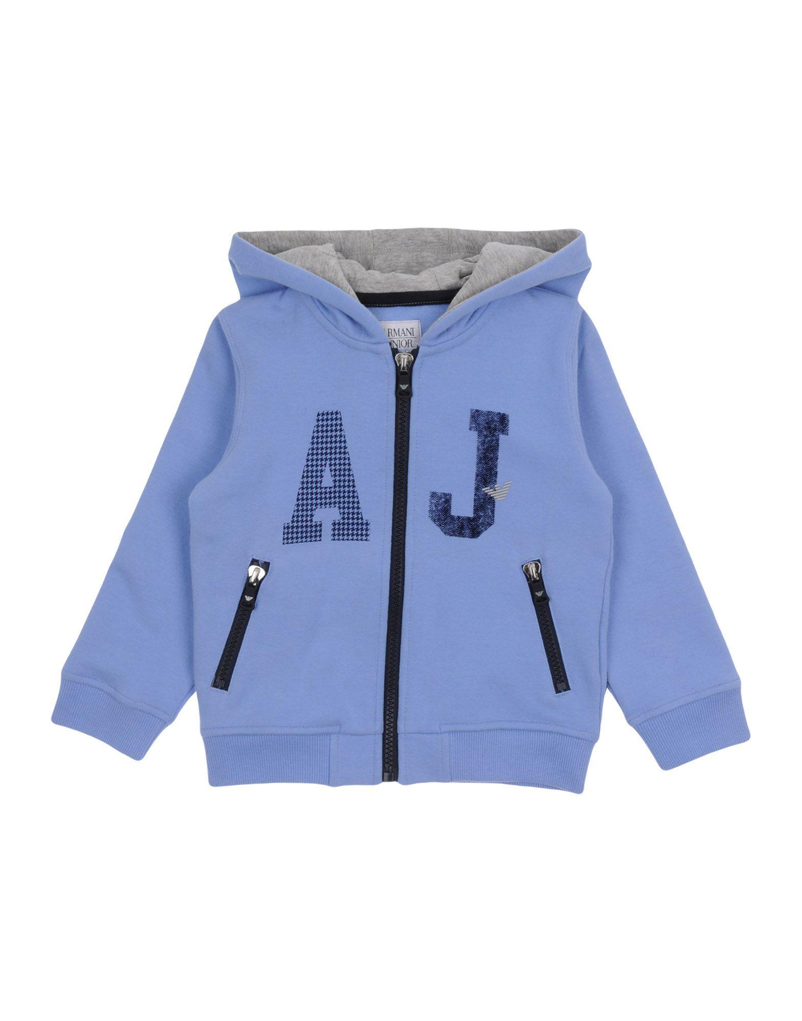 TOPWEAR Armani Junior Blue Boy Cotton