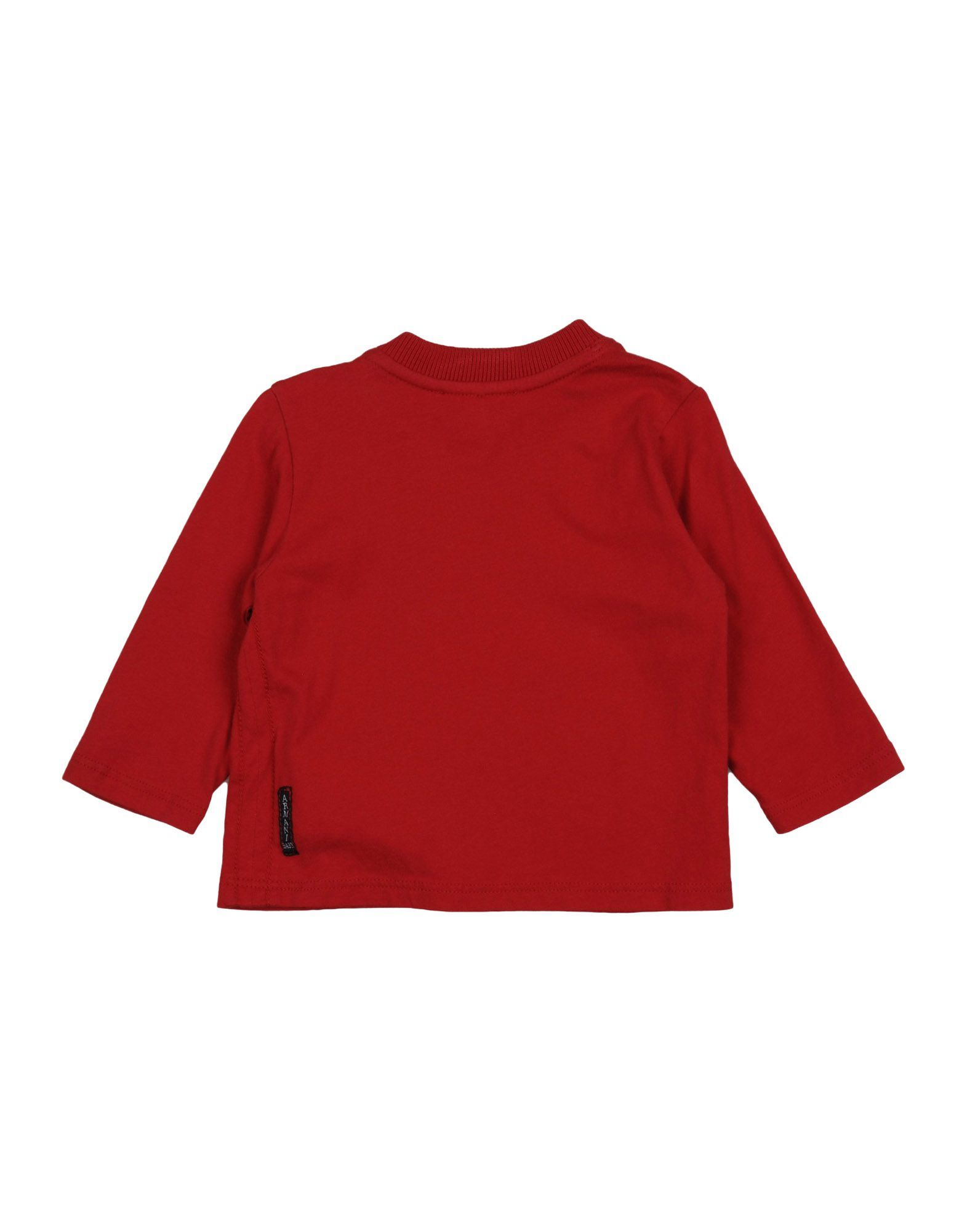 TOPWEAR Armani Junior Red Boy Cotton