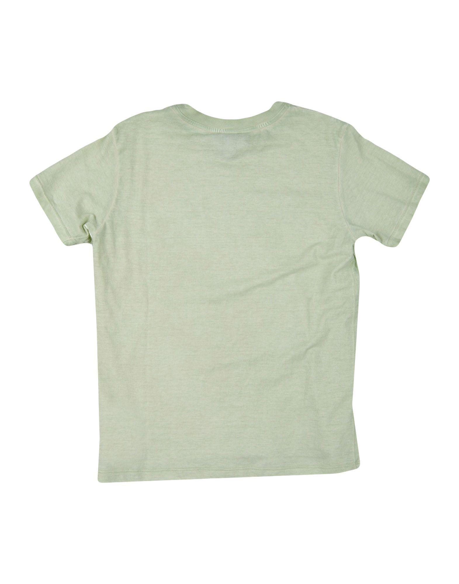 TOPWEAR Armani Junior Light green Girl Cotton