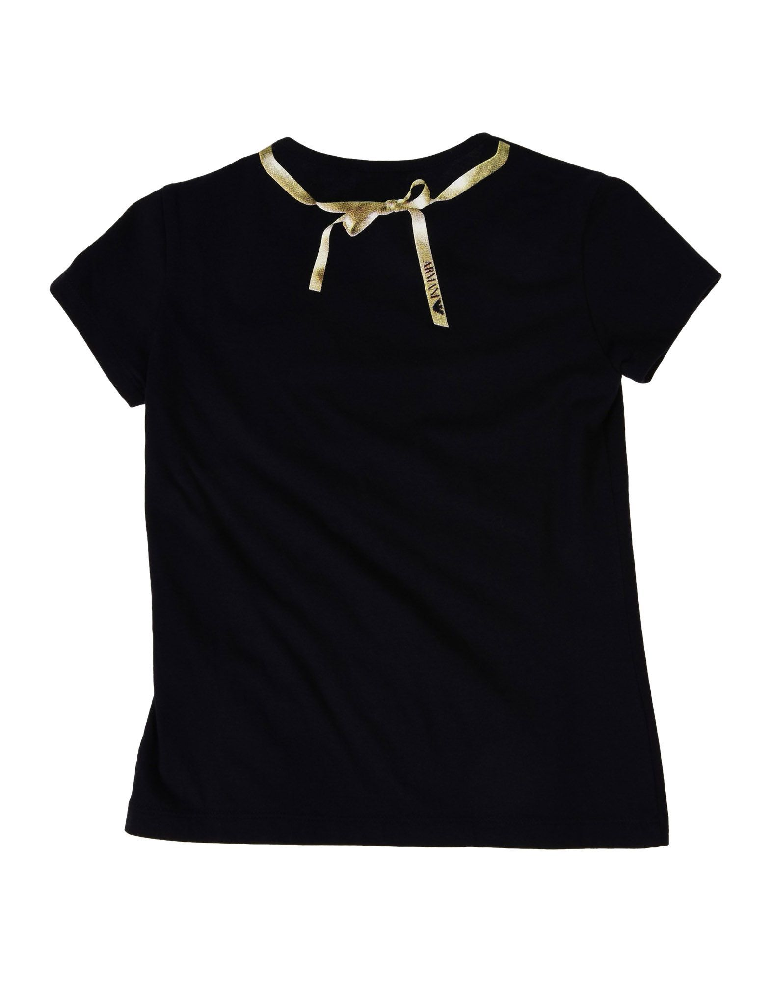 TOPWEAR Armani Junior Dark blue Girl Cotton