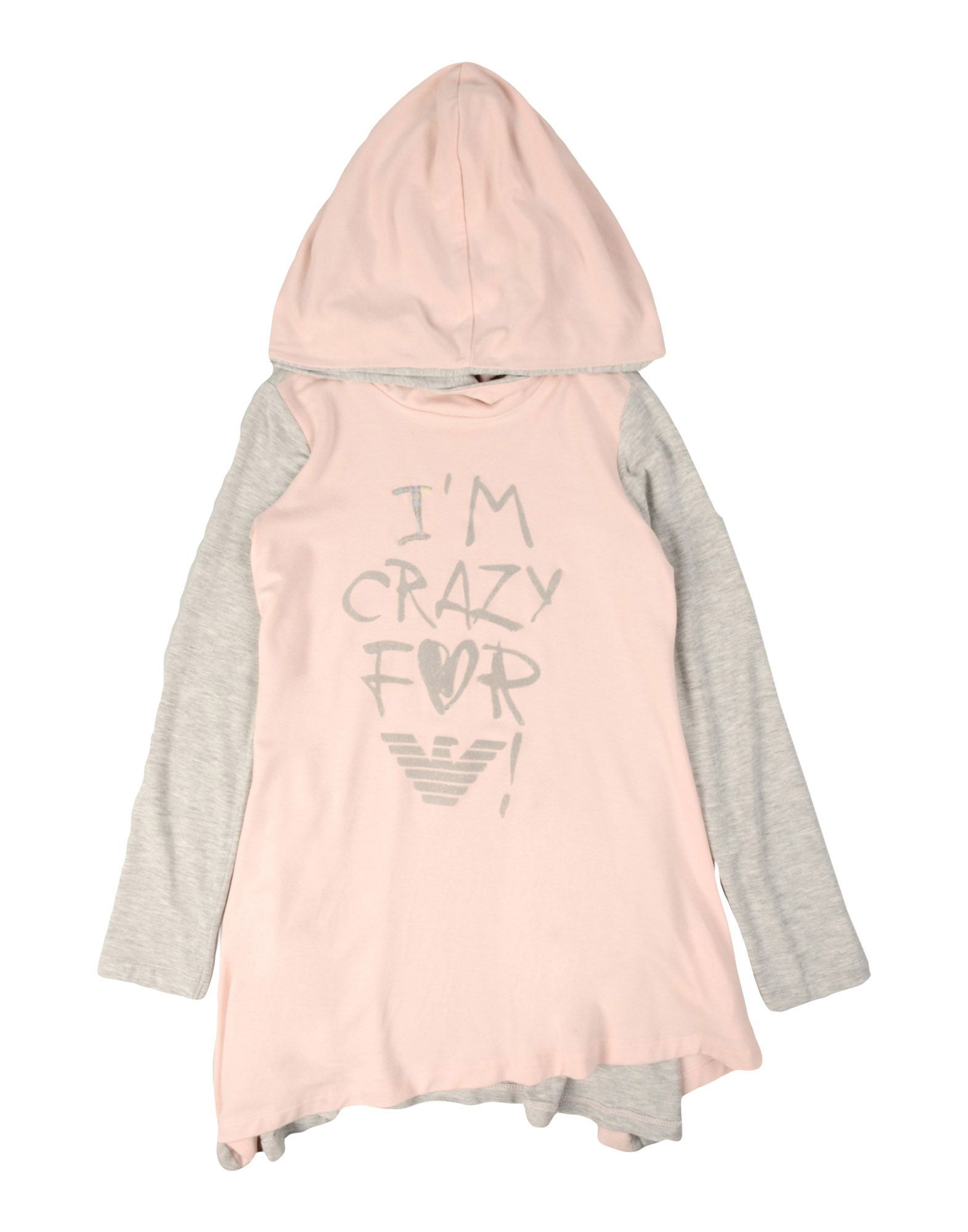 TOPWEAR Armani Junior Pink Girl Viscose