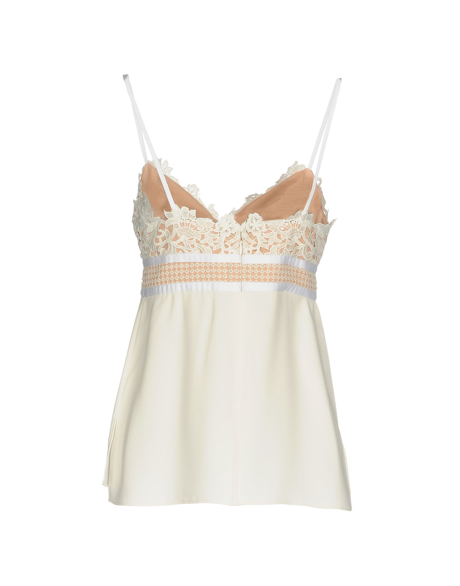 Theory Ivory Lace Camisole