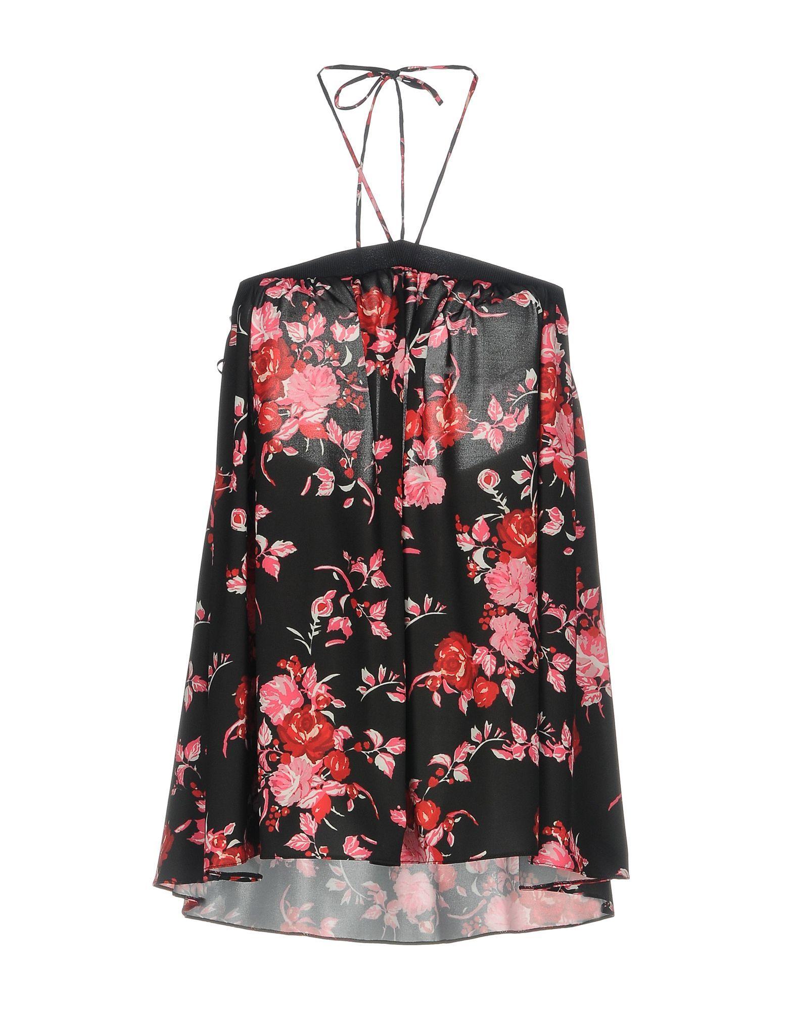 Pinko Black Floral Print Camisole