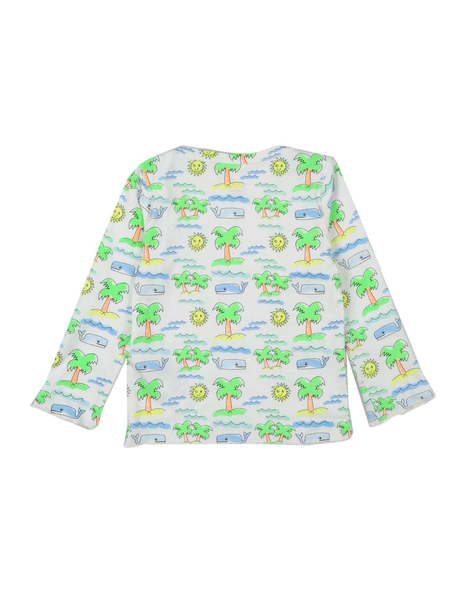 TOPWEAR Stella Mccartney Kids Ivory Unisex Cotton