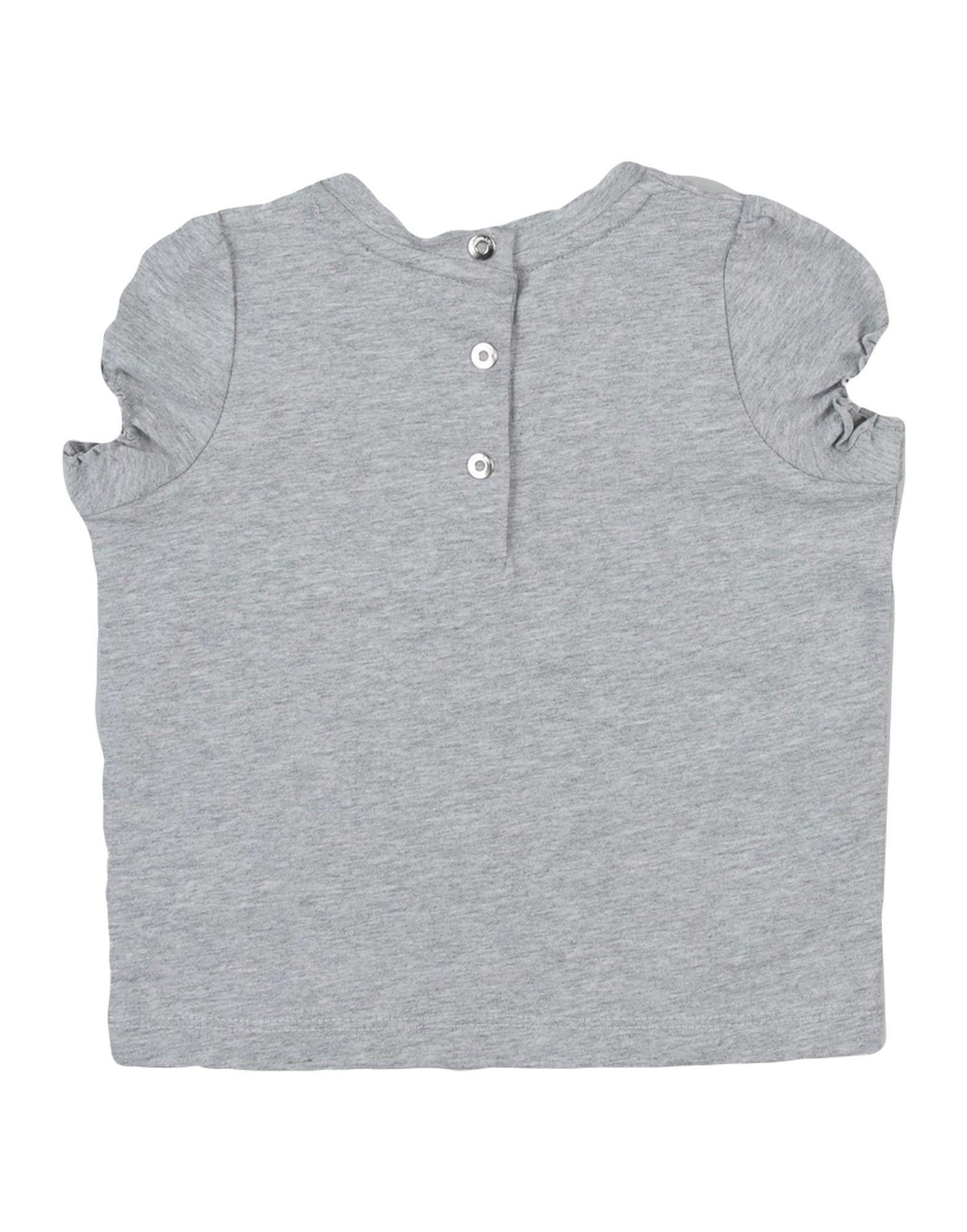 Roberto Cavalli Junior Grey Cotton T-shirt