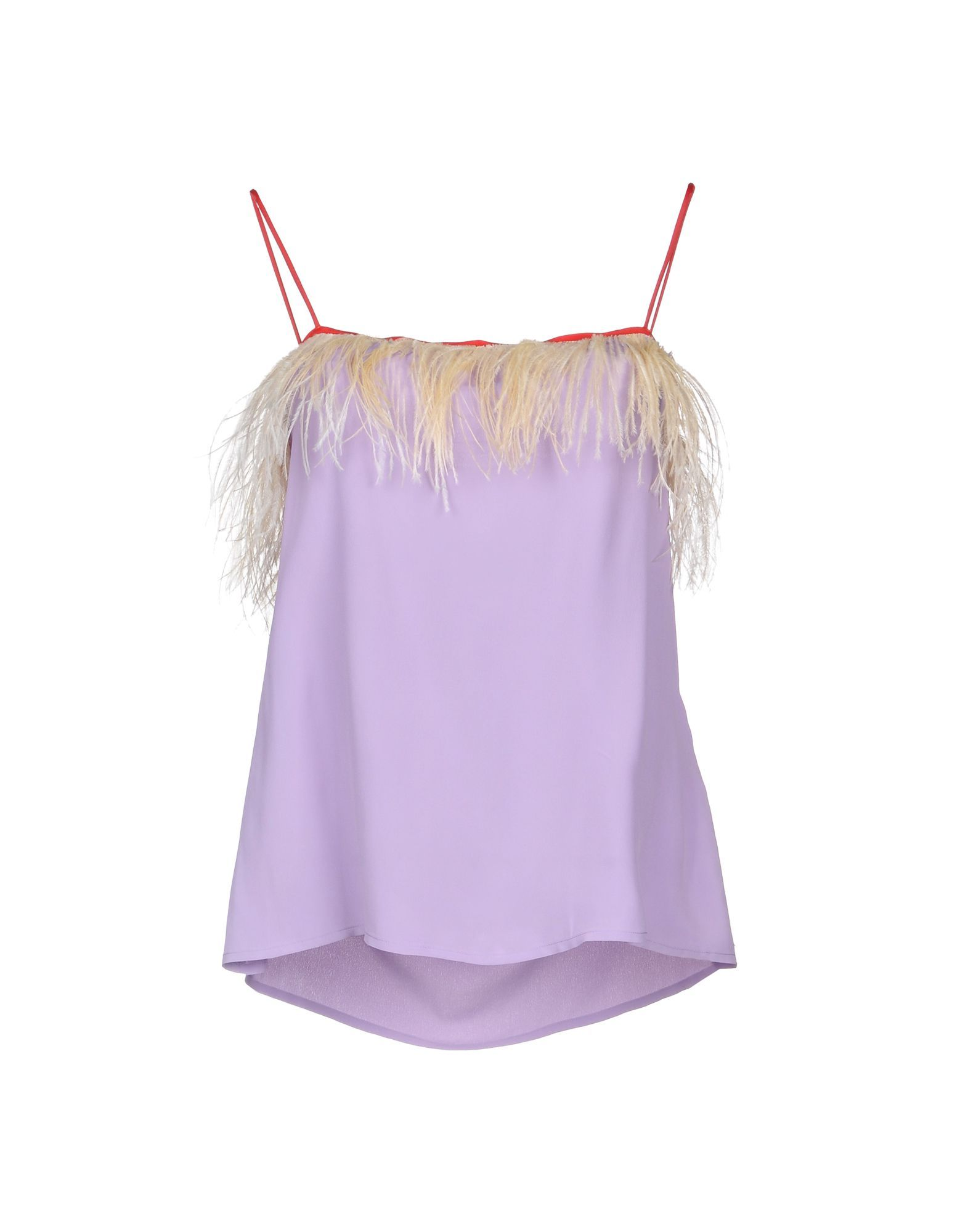 Jucca Lilac Feathered Camisole